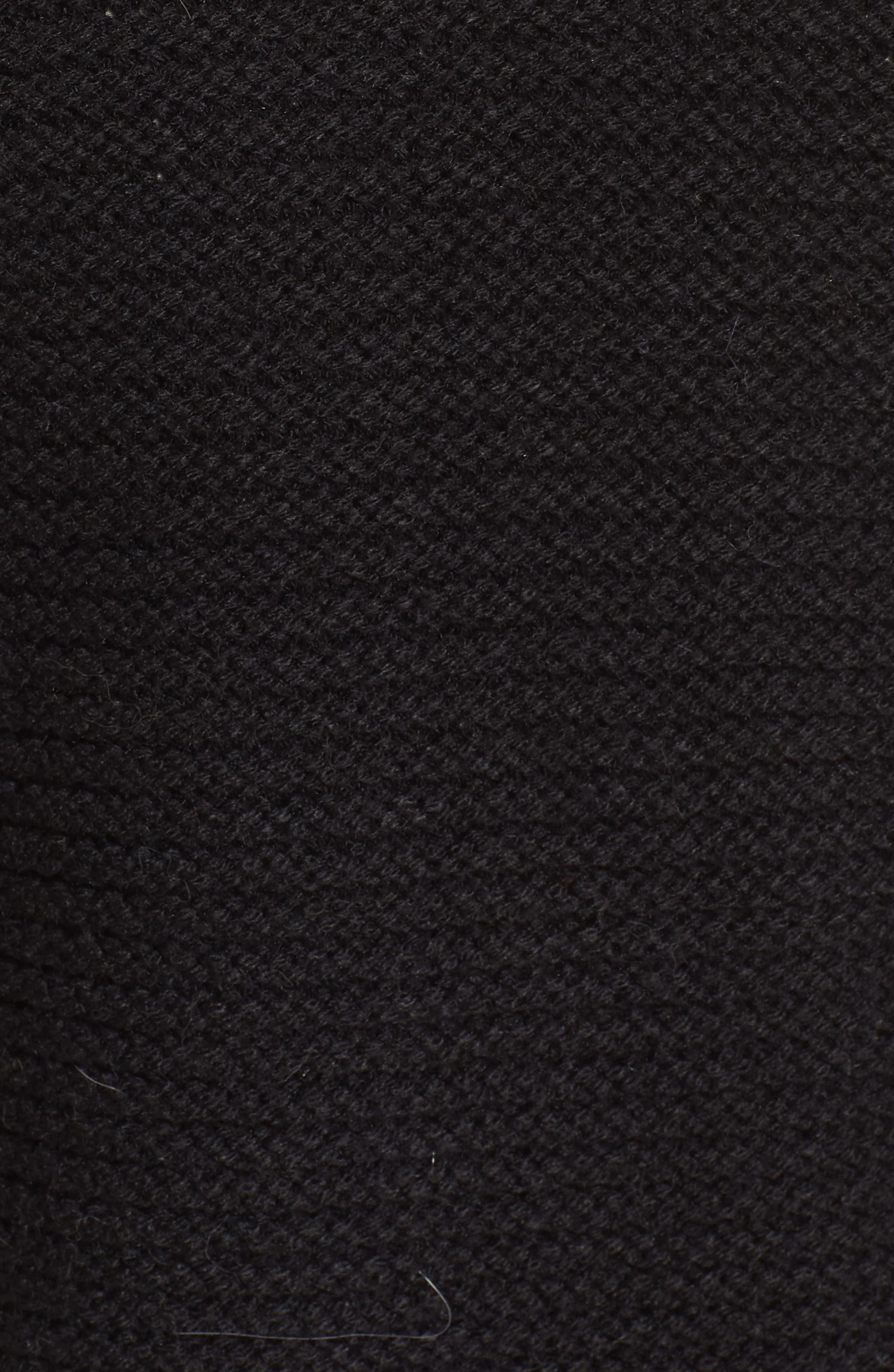 Faux Shearling Vest,                             Alternate thumbnail 6, color,                             001