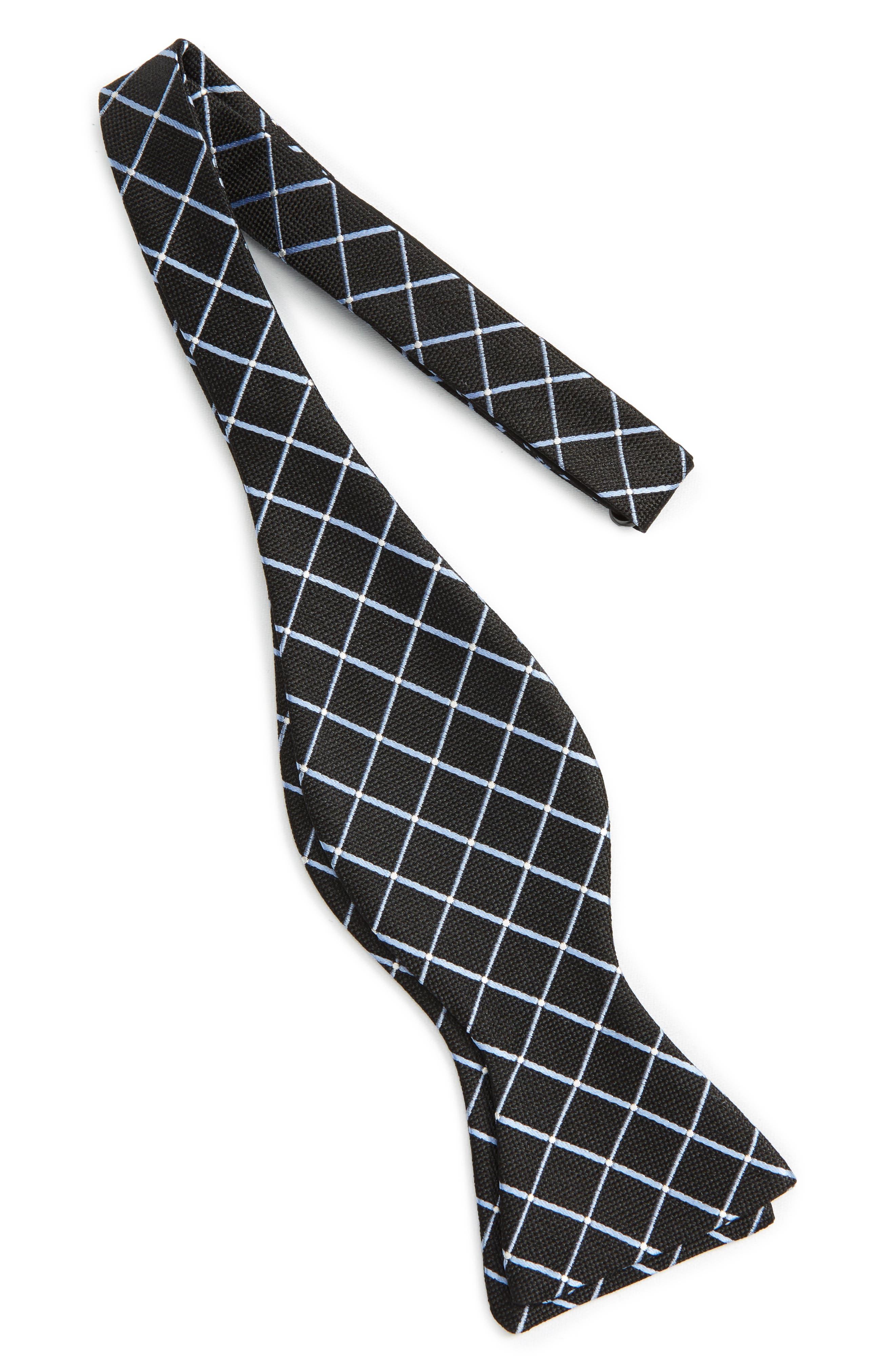 Geometric Silk Tie,                             Alternate thumbnail 2, color,                             001