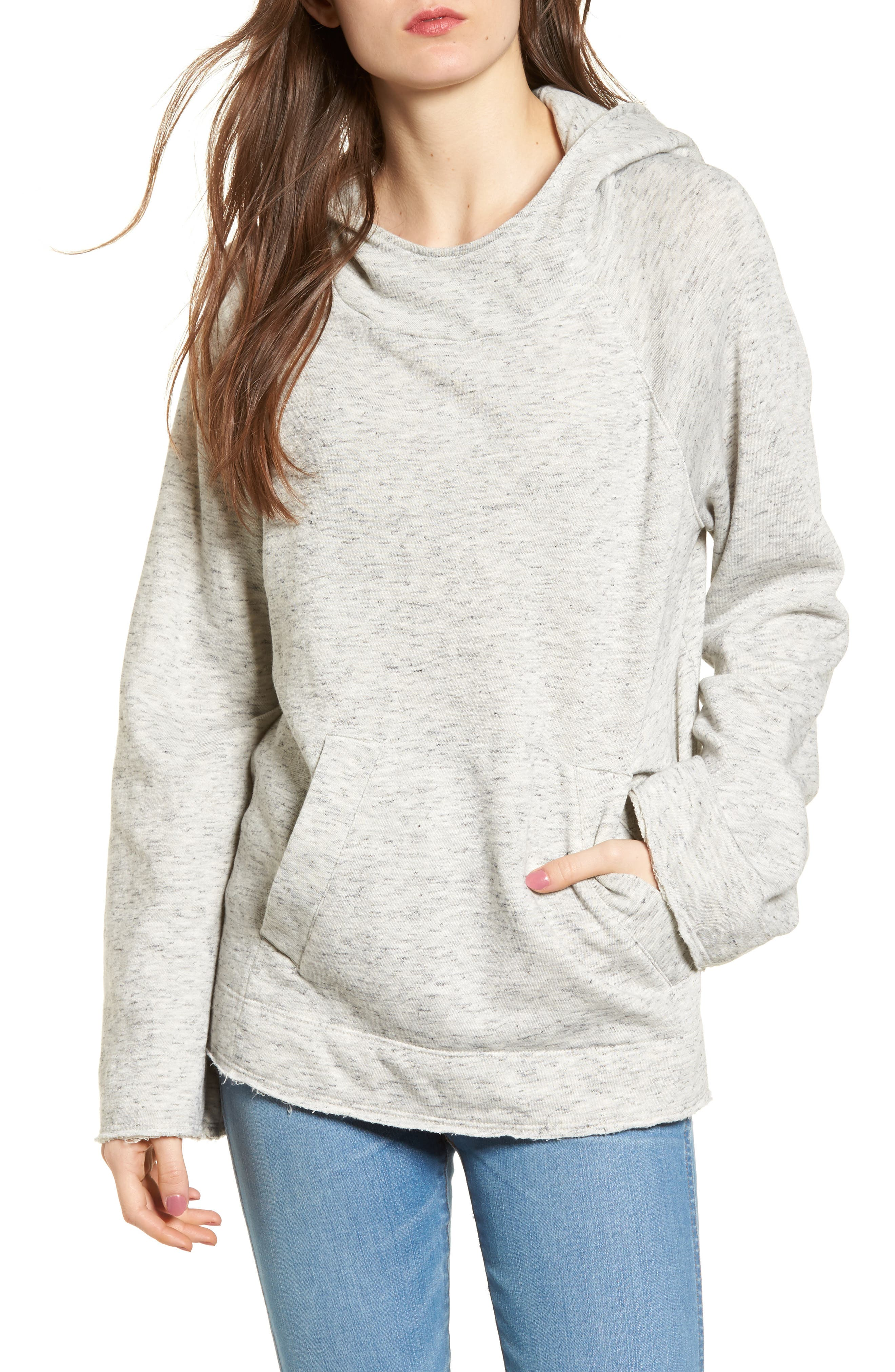 Sidelight Cowl Neck Hoodie,                         Main,                         color, 020