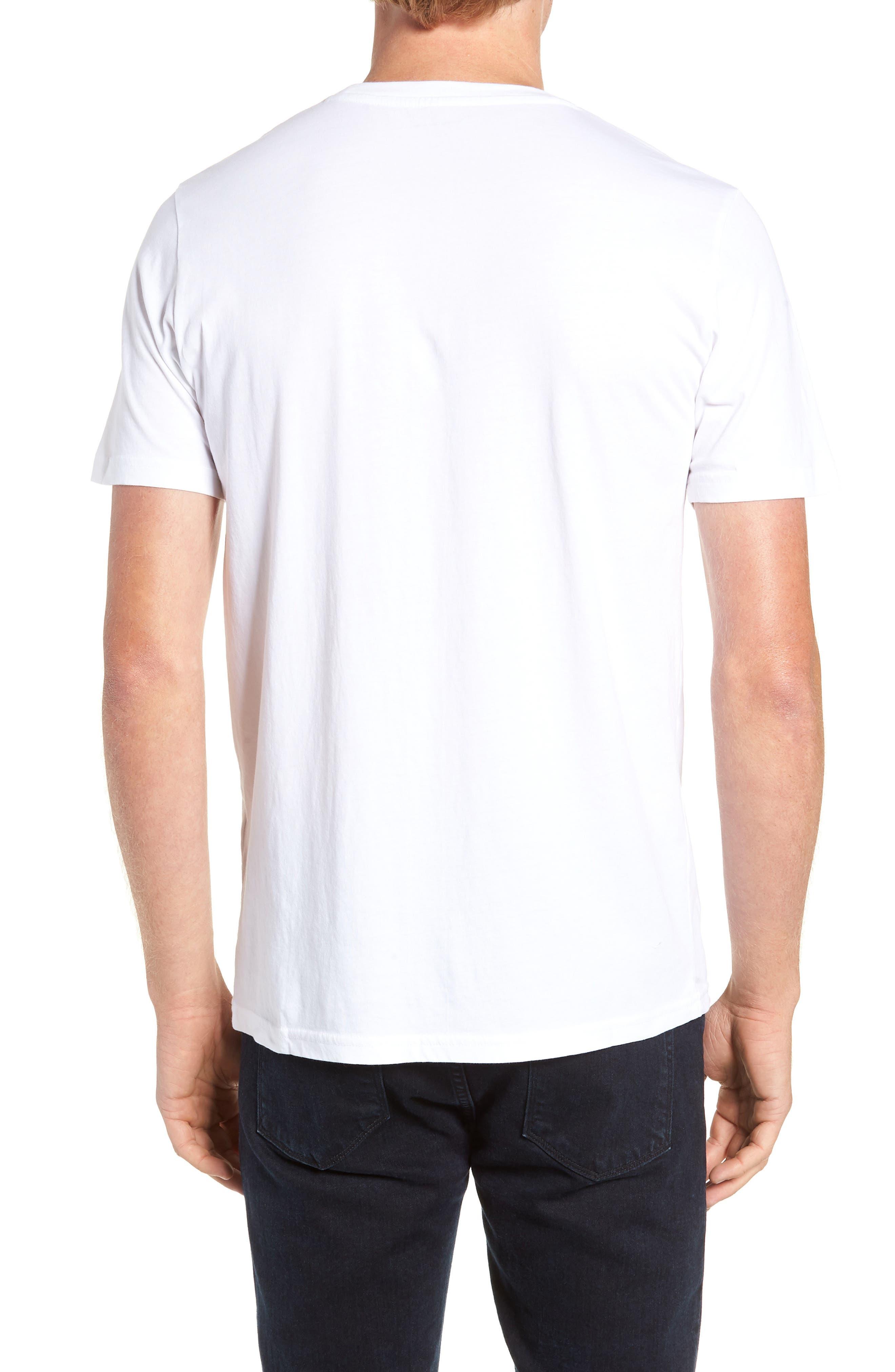 Owl Concept T-Shirt,                             Alternate thumbnail 2, color,                             WHITE