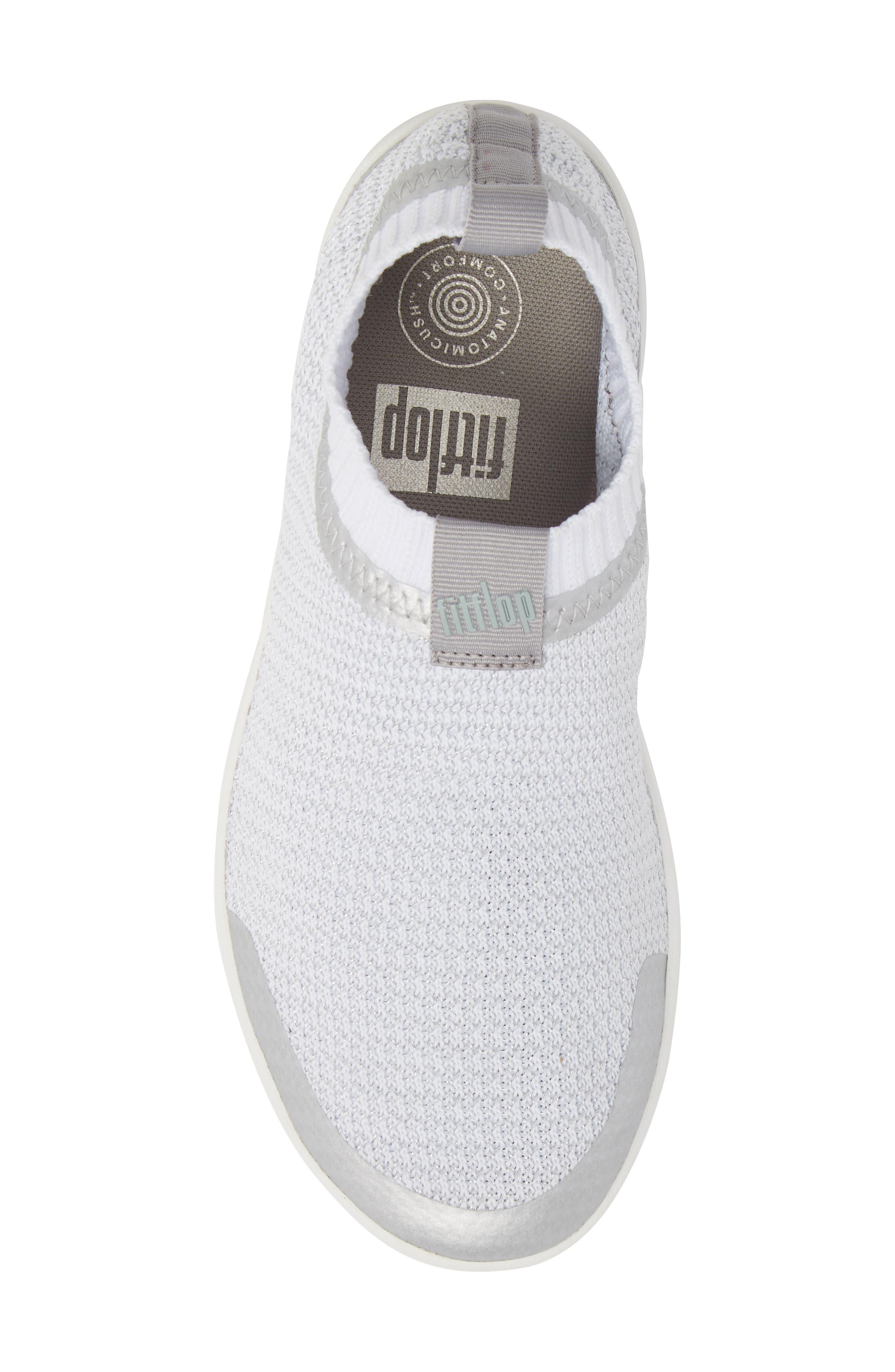 Uberknit Knit Sock Sneaker,                             Alternate thumbnail 5, color,                             040