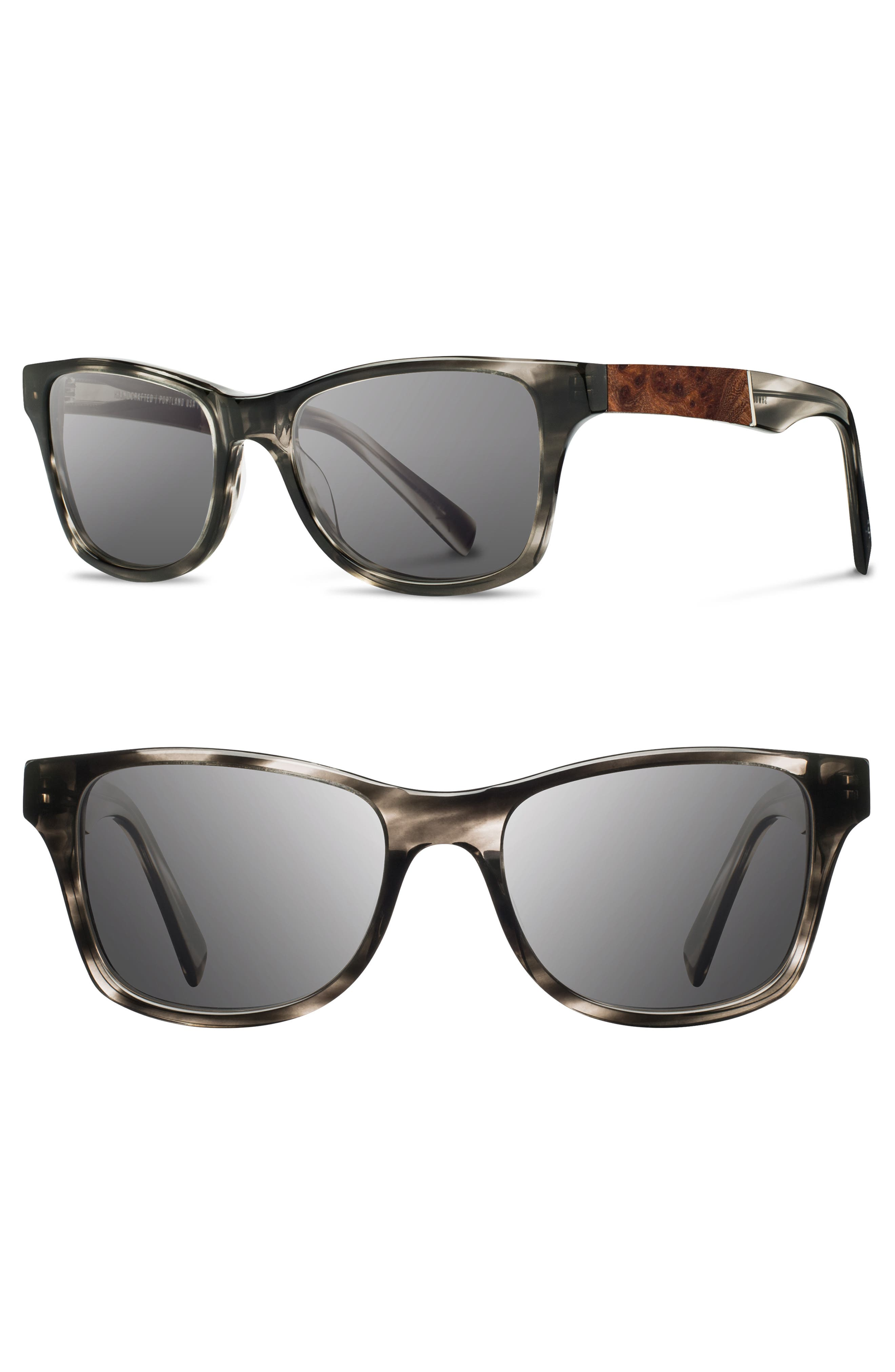 'Canby' 54mm Wood Sunglasses,                             Main thumbnail 2, color,