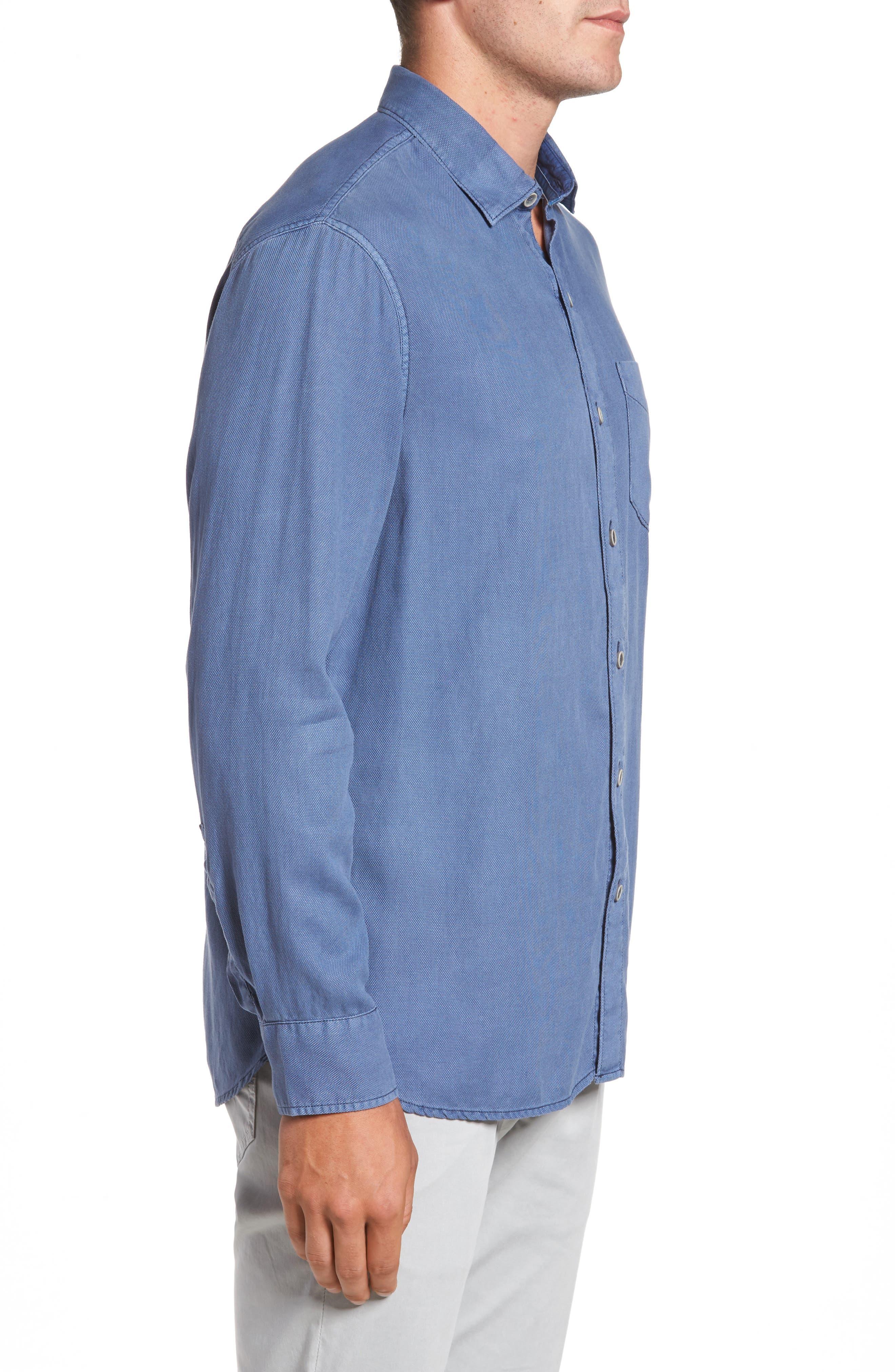 Dobby Dylan Sport Shirt,                             Alternate thumbnail 8, color,