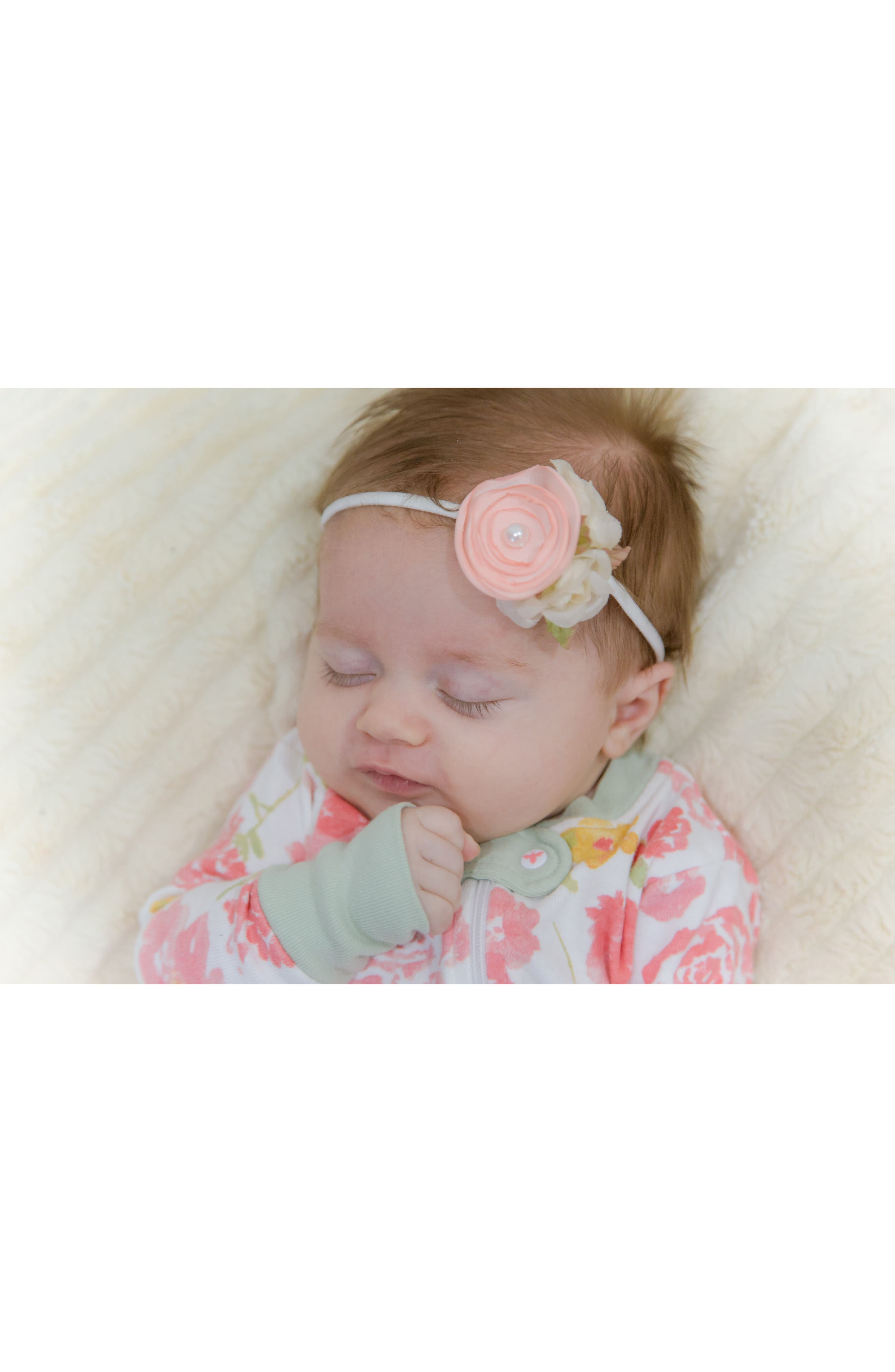 Floral Headband,                             Alternate thumbnail 3, color,                             650