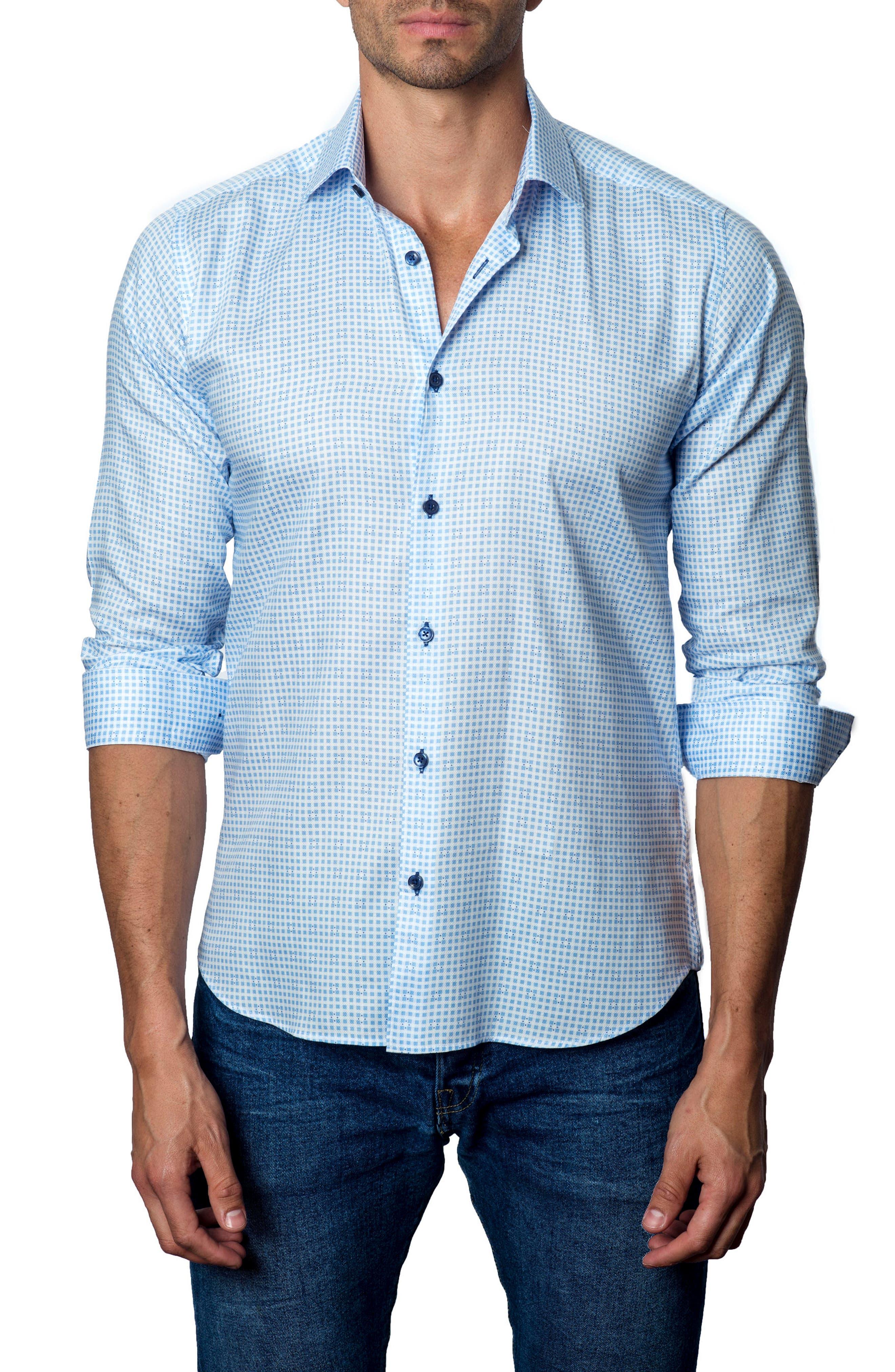 Print Sport Shirt,                         Main,                         color, 485