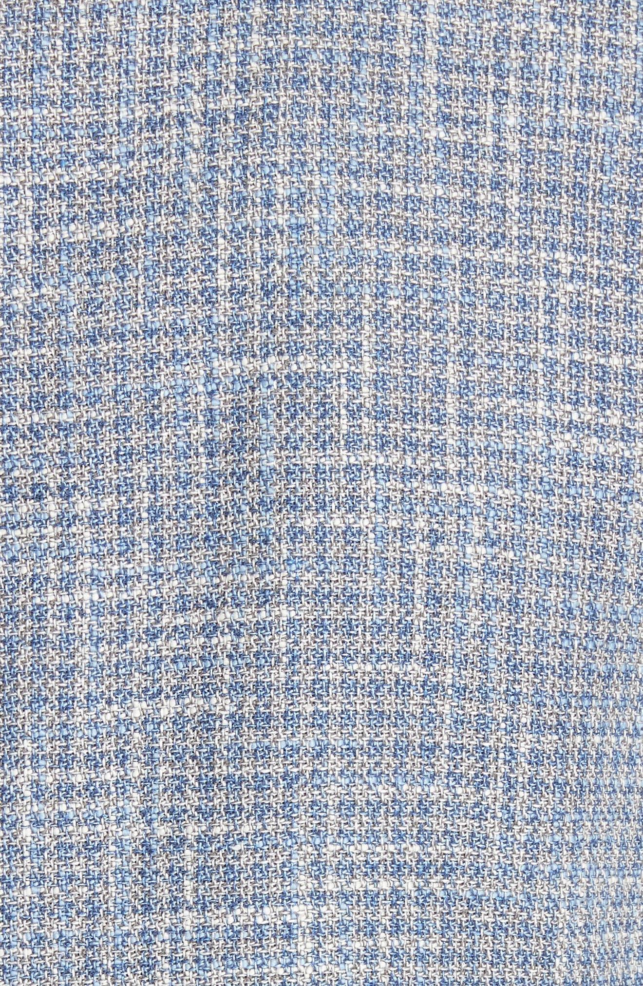 CANALI,                             Kei Classic Fit Check Sport Coat,                             Alternate thumbnail 6, color,                             400