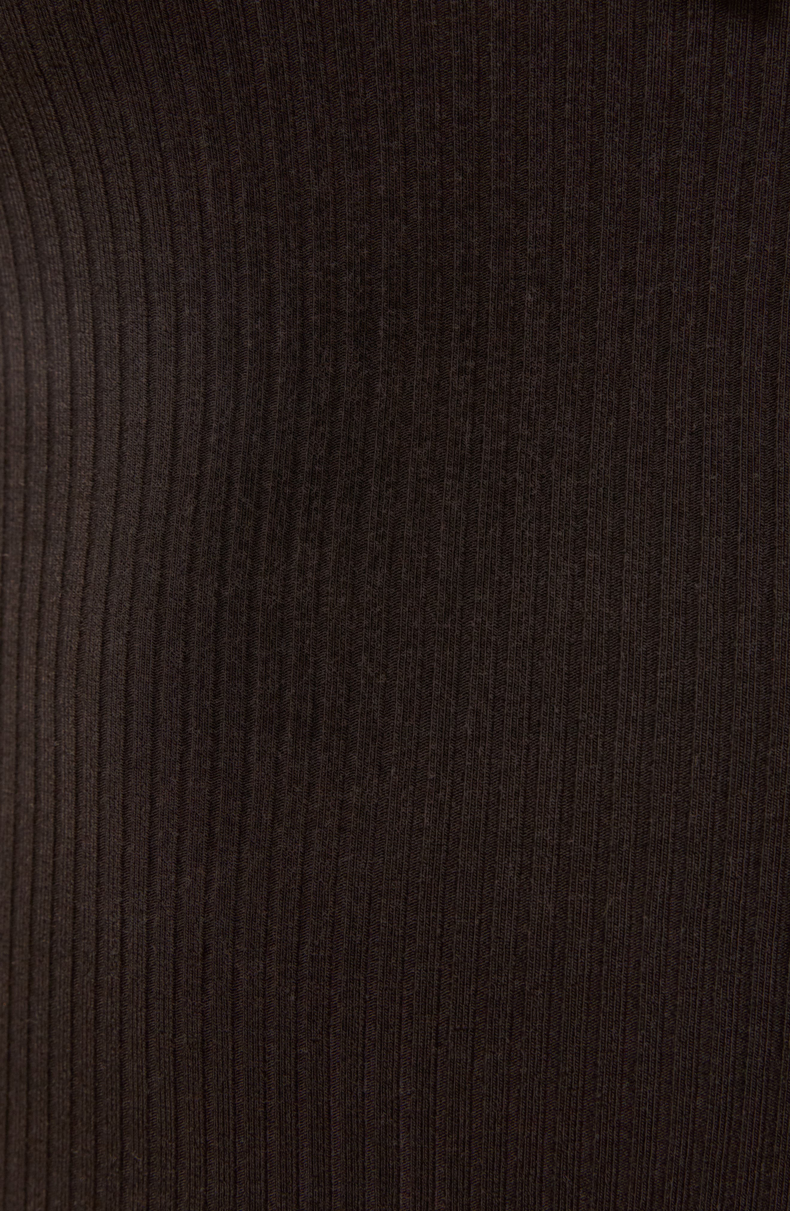 Loren Bodysuit,                             Alternate thumbnail 5, color,                             BLACK