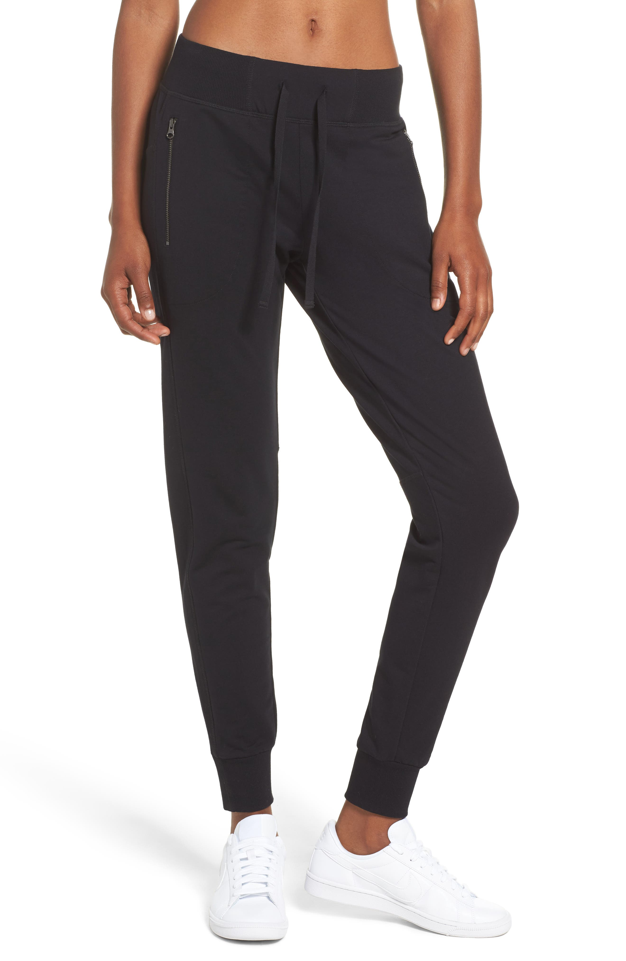 Taryn Luxe Jogger Pants,                         Main,                         color, 002