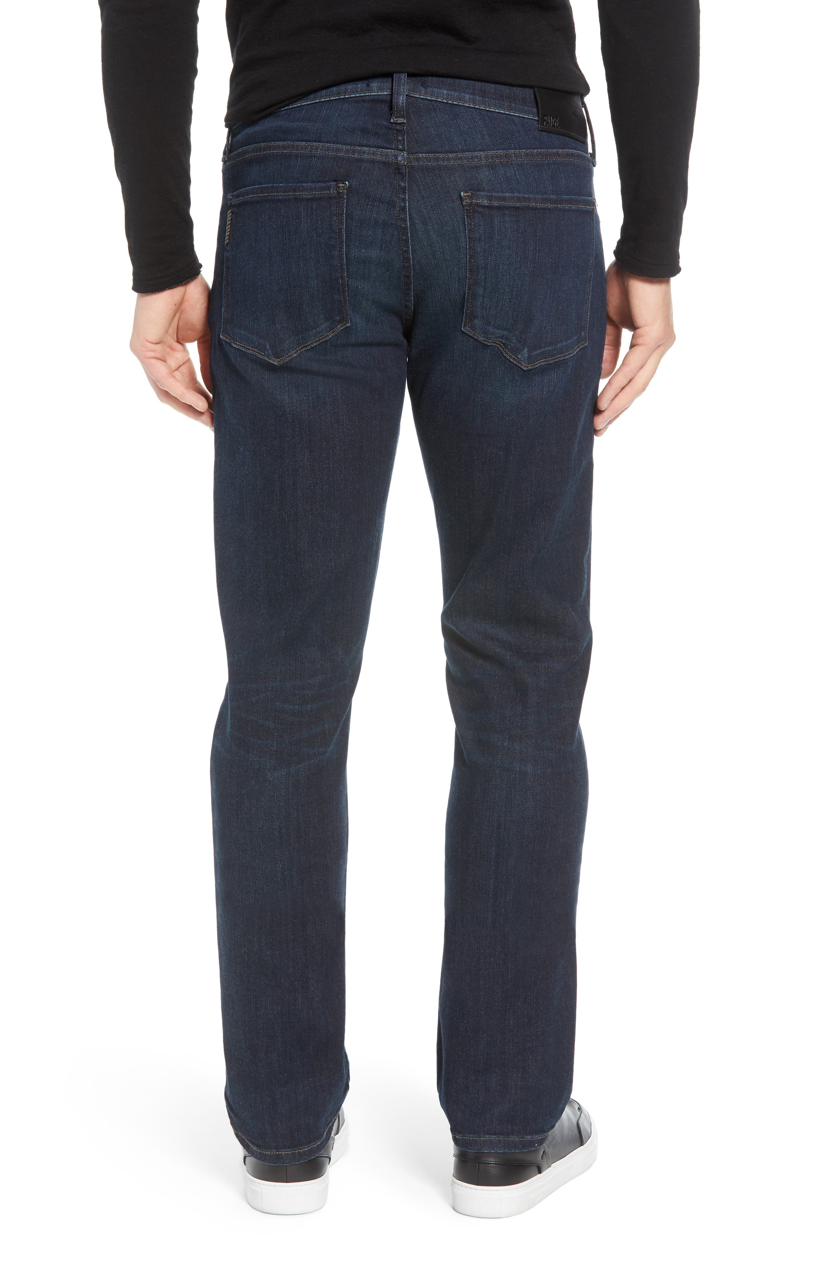 Transcend - Normandie Straight Leg Jeans,                             Alternate thumbnail 2, color,                             KENAN