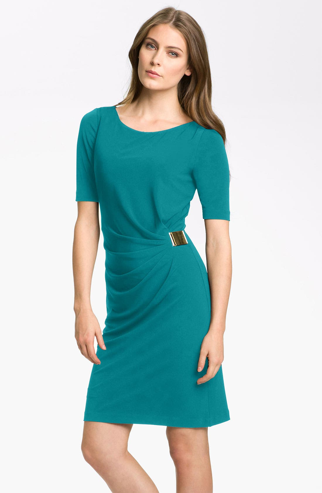 by Arthur S. Levine 'Kevin' Jersey Sheath Dress,                             Main thumbnail 4, color,