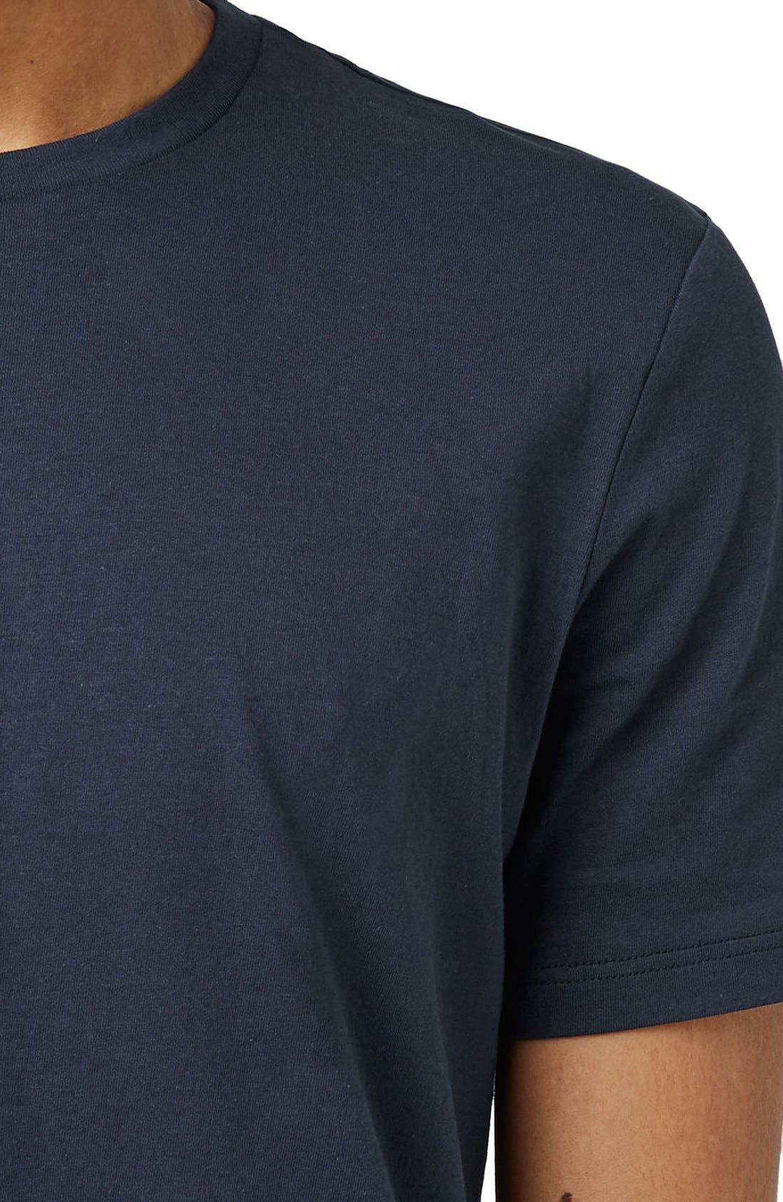 Slim Fit Crewneck T-Shirt,                             Alternate thumbnail 154, color,