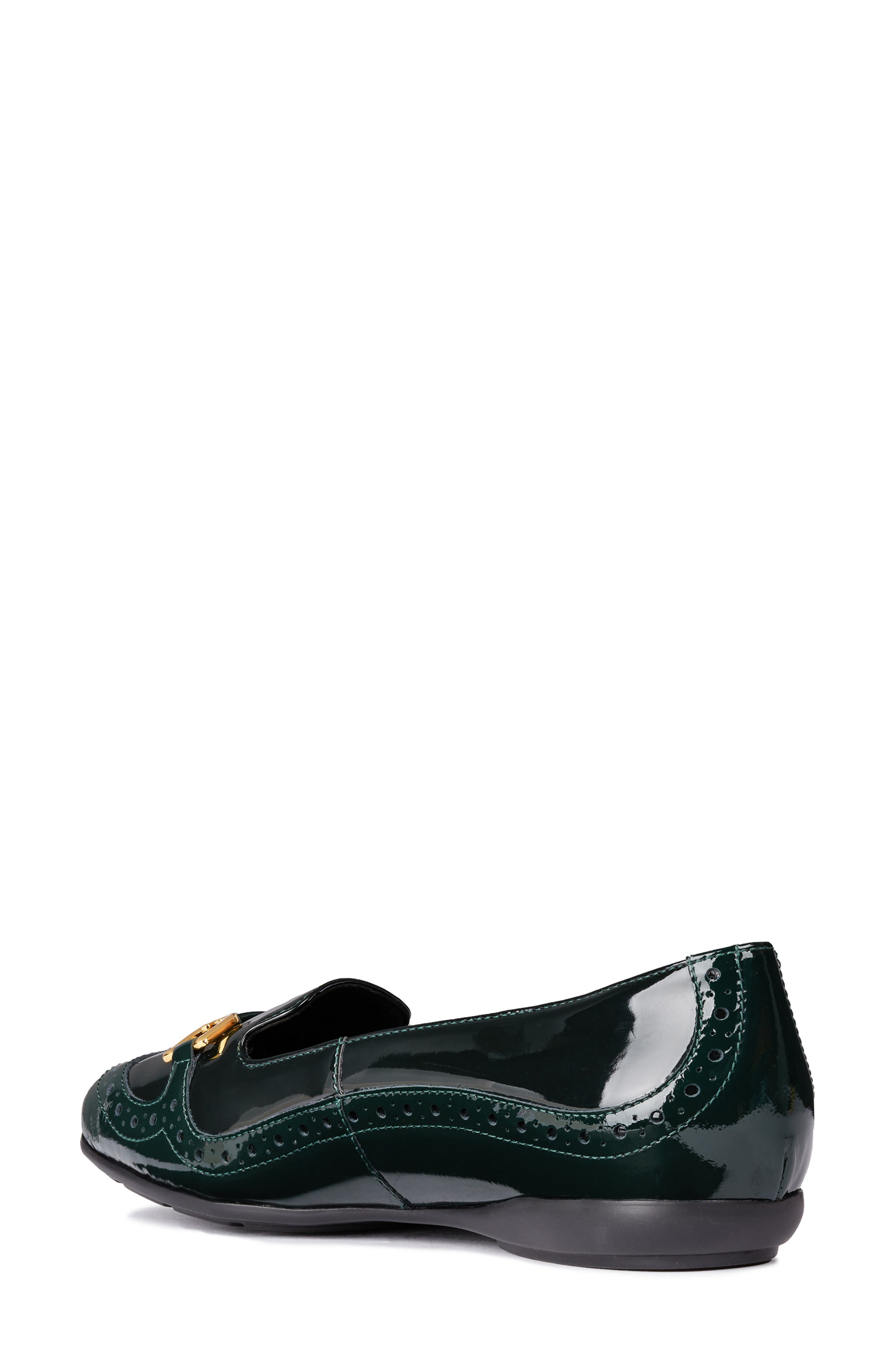 Annytah Loafer,                             Alternate thumbnail 2, color,                             FOREST FAUX PATENT LEATHER