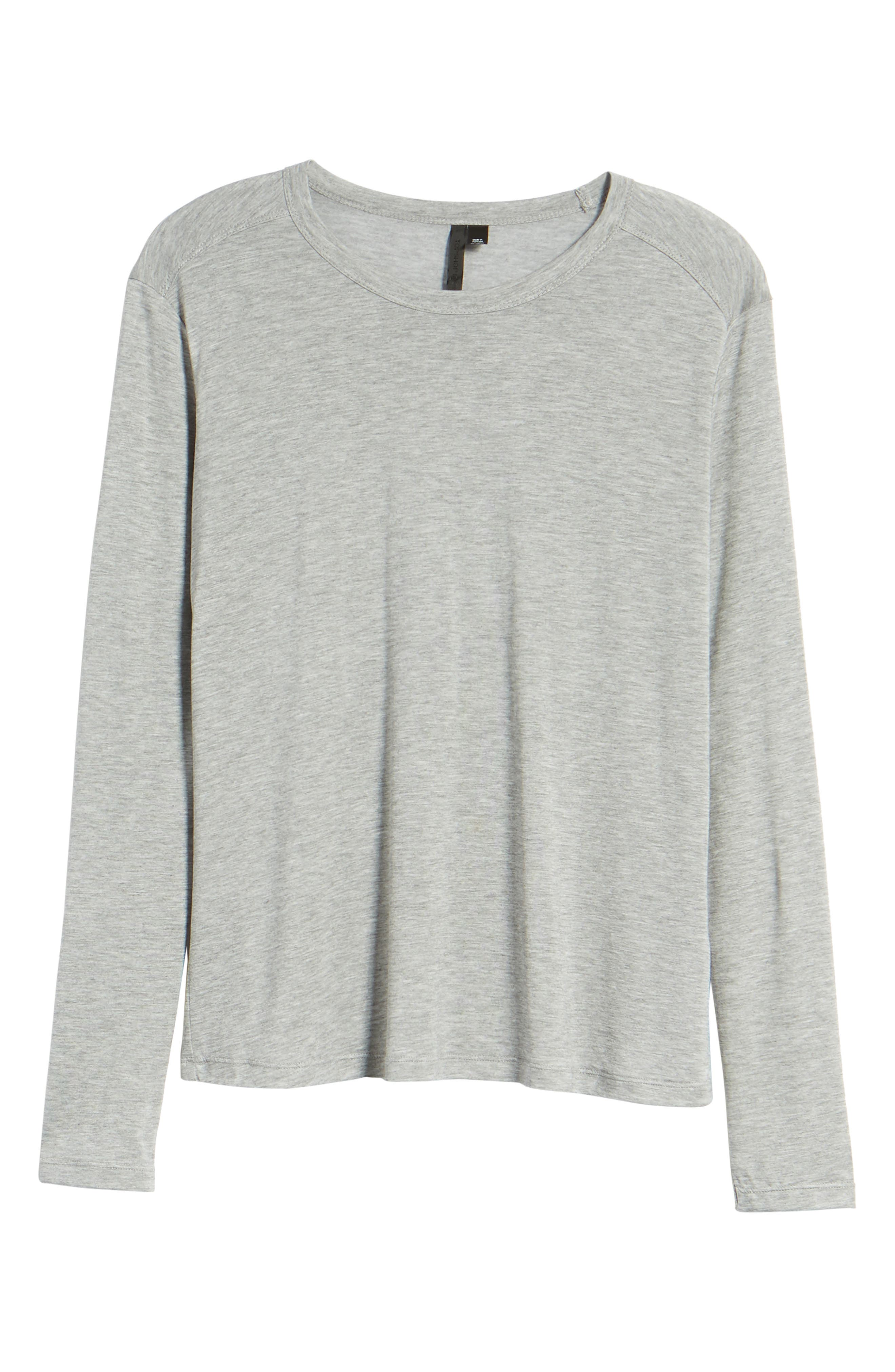 Lyocell Long Sleeve T-Shirt,                             Alternate thumbnail 14, color,