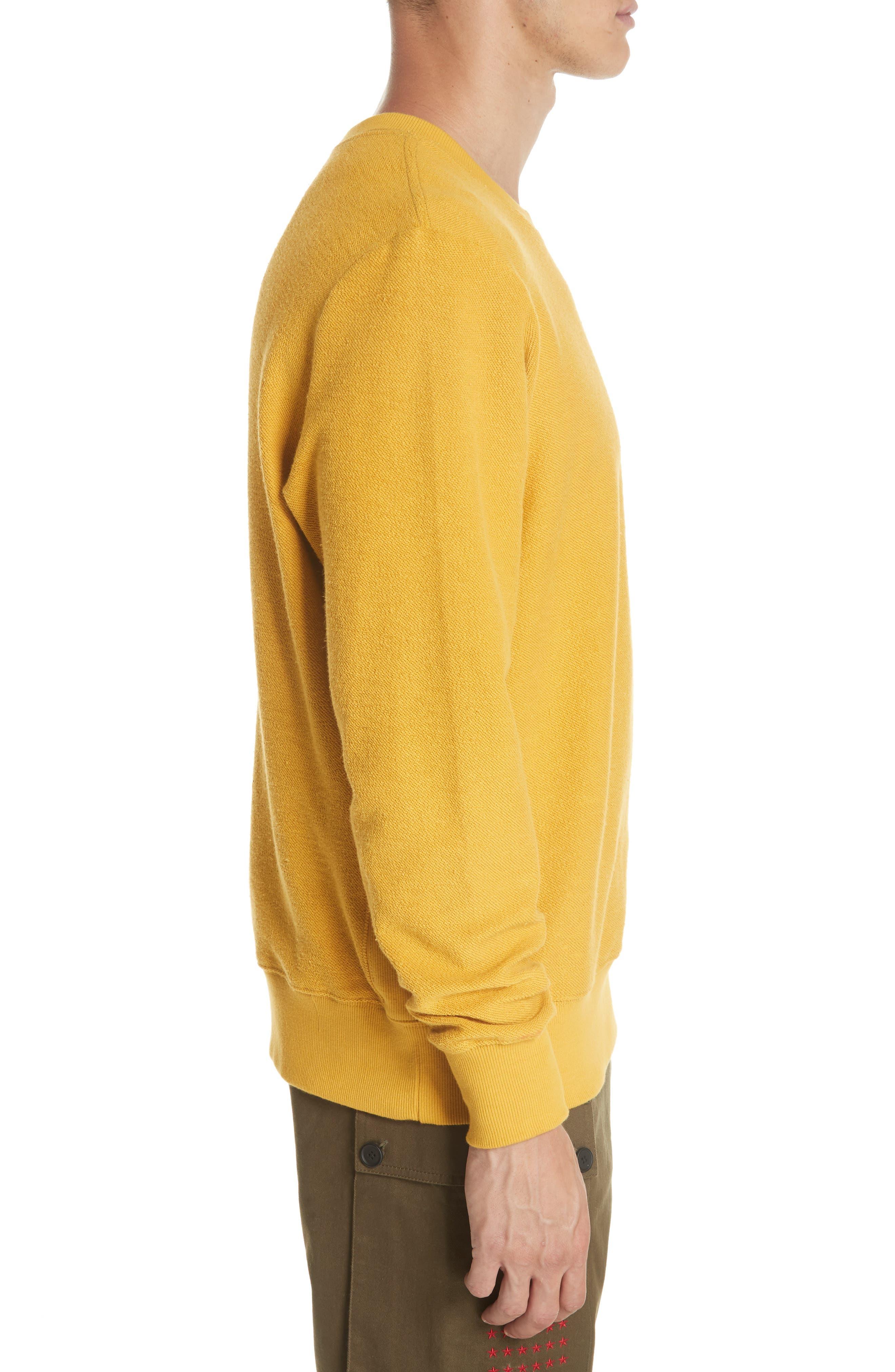 Type-01 Crewneck Sweatshirt,                             Alternate thumbnail 3, color,                             711