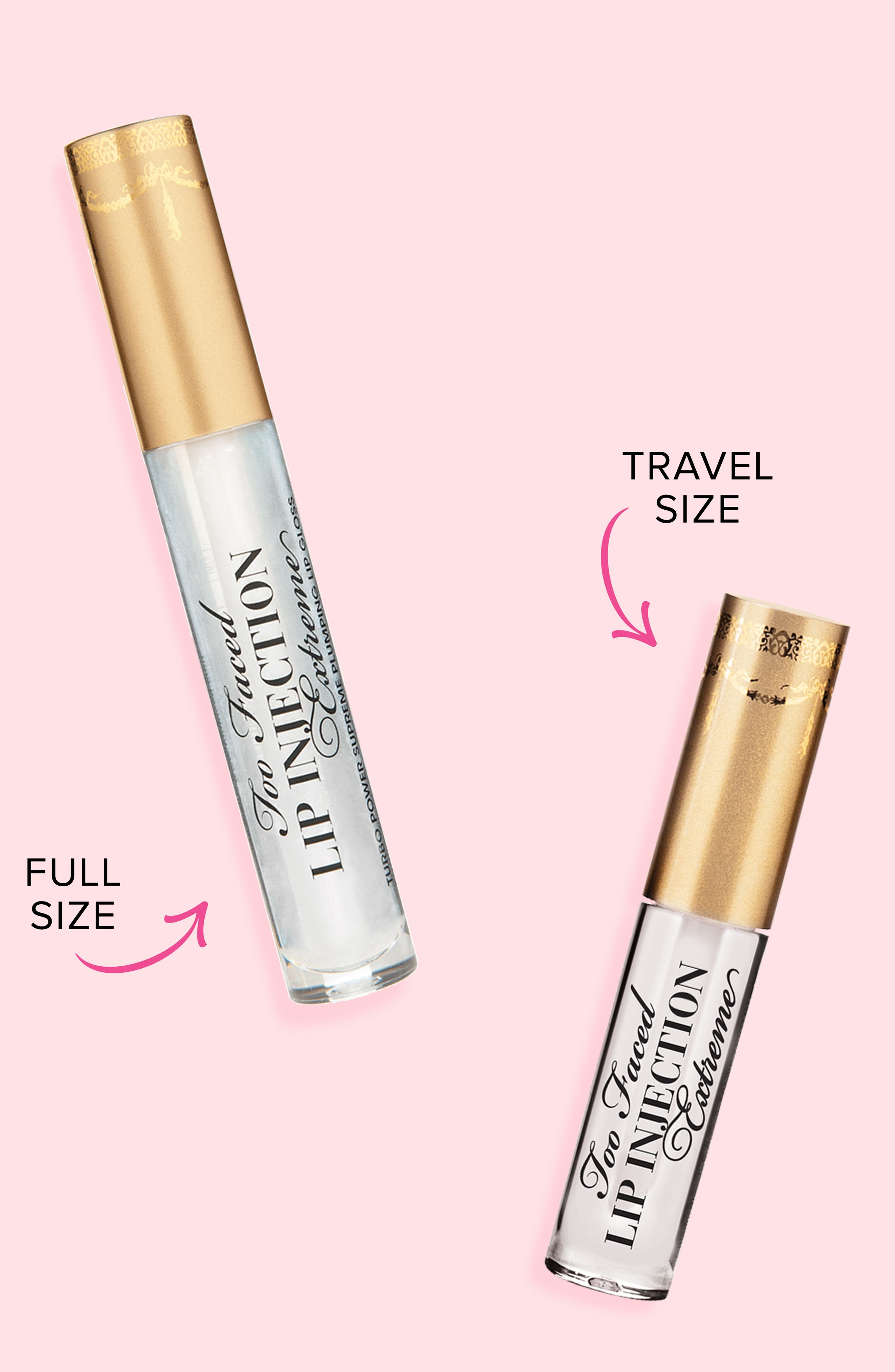Lip Injection Extreme Lip Gloss,                             Alternate thumbnail 5, color,                             NO COLOR