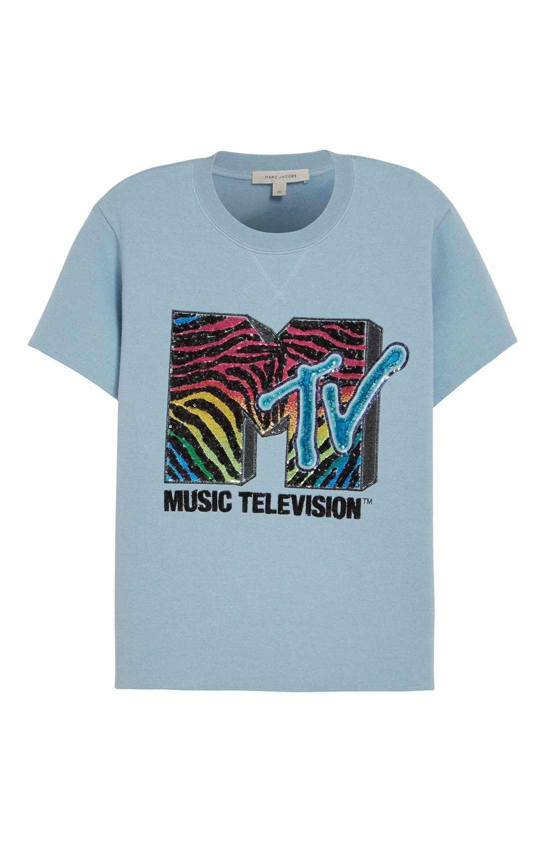 x MTV Logo Sweatshirt,                             Alternate thumbnail 6, color,                             451