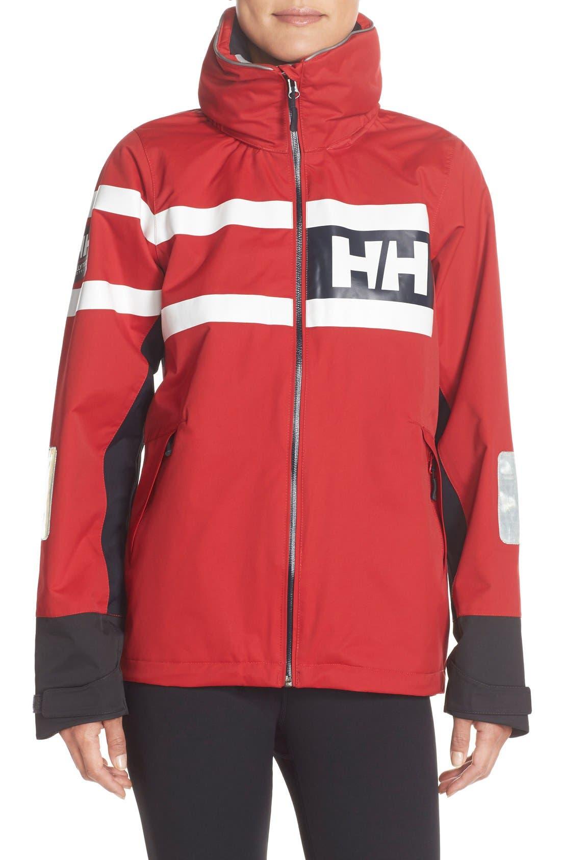 'Salt Power' Waterproof Jacket, Main, color, 600