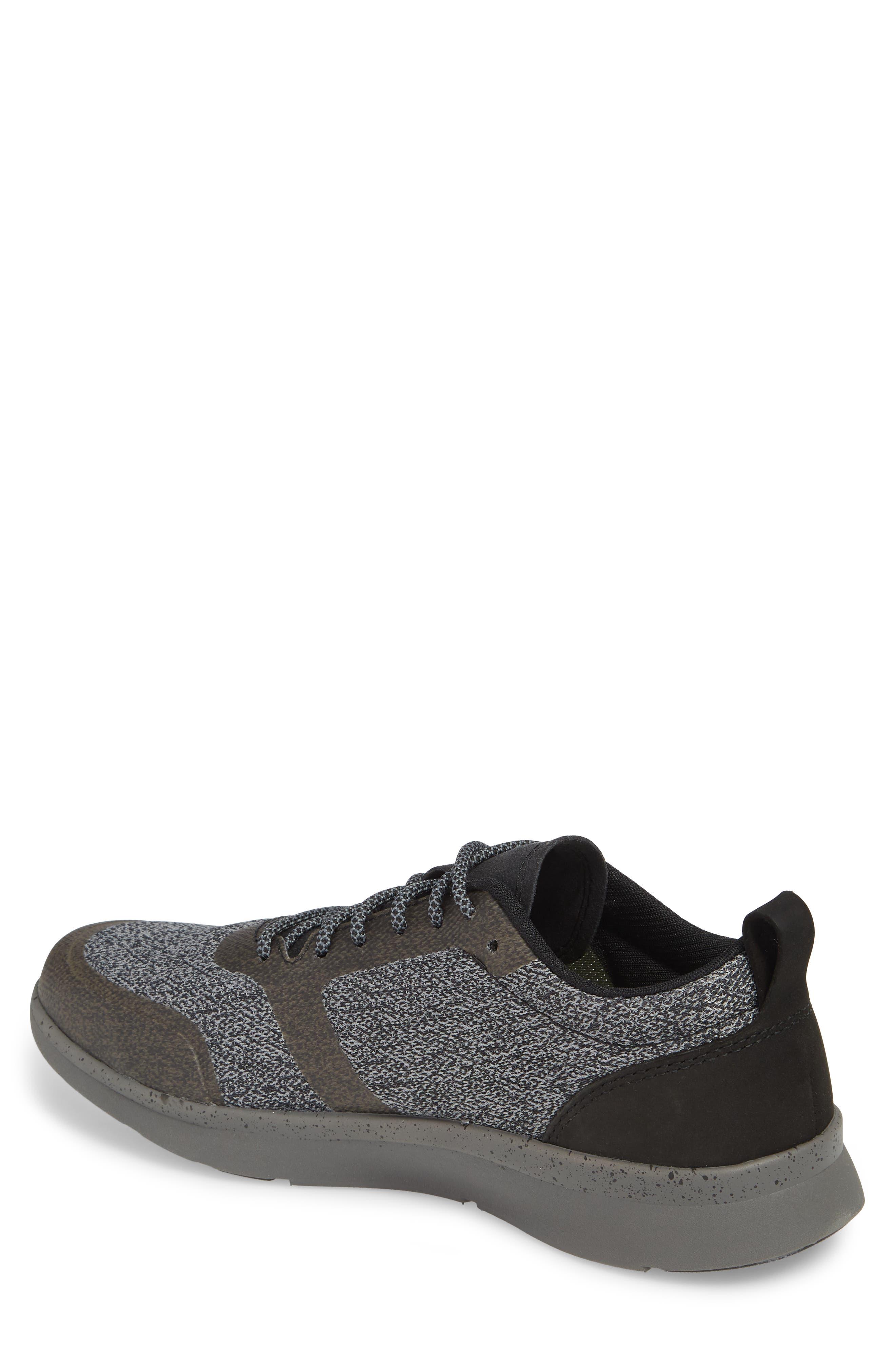 Worldwide Stuart MX Sneaker,                             Alternate thumbnail 2, color,                             BLACK