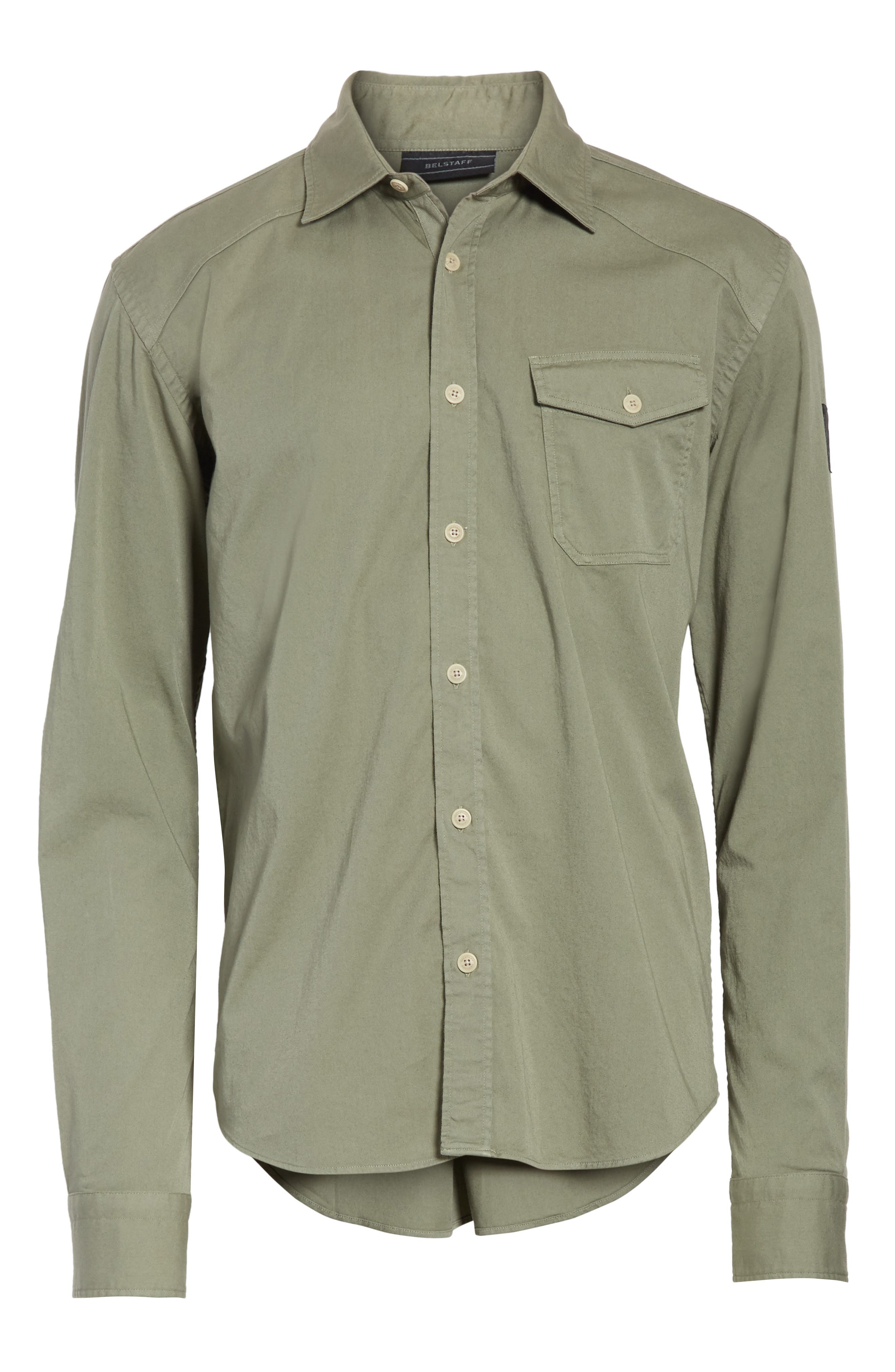 Steadway Extra Slim Fit Sport Shirt,                             Alternate thumbnail 6, color,                             033