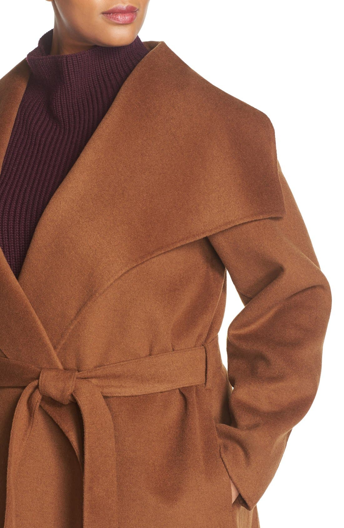 'Ella' Wrap Coat,                             Alternate thumbnail 14, color,