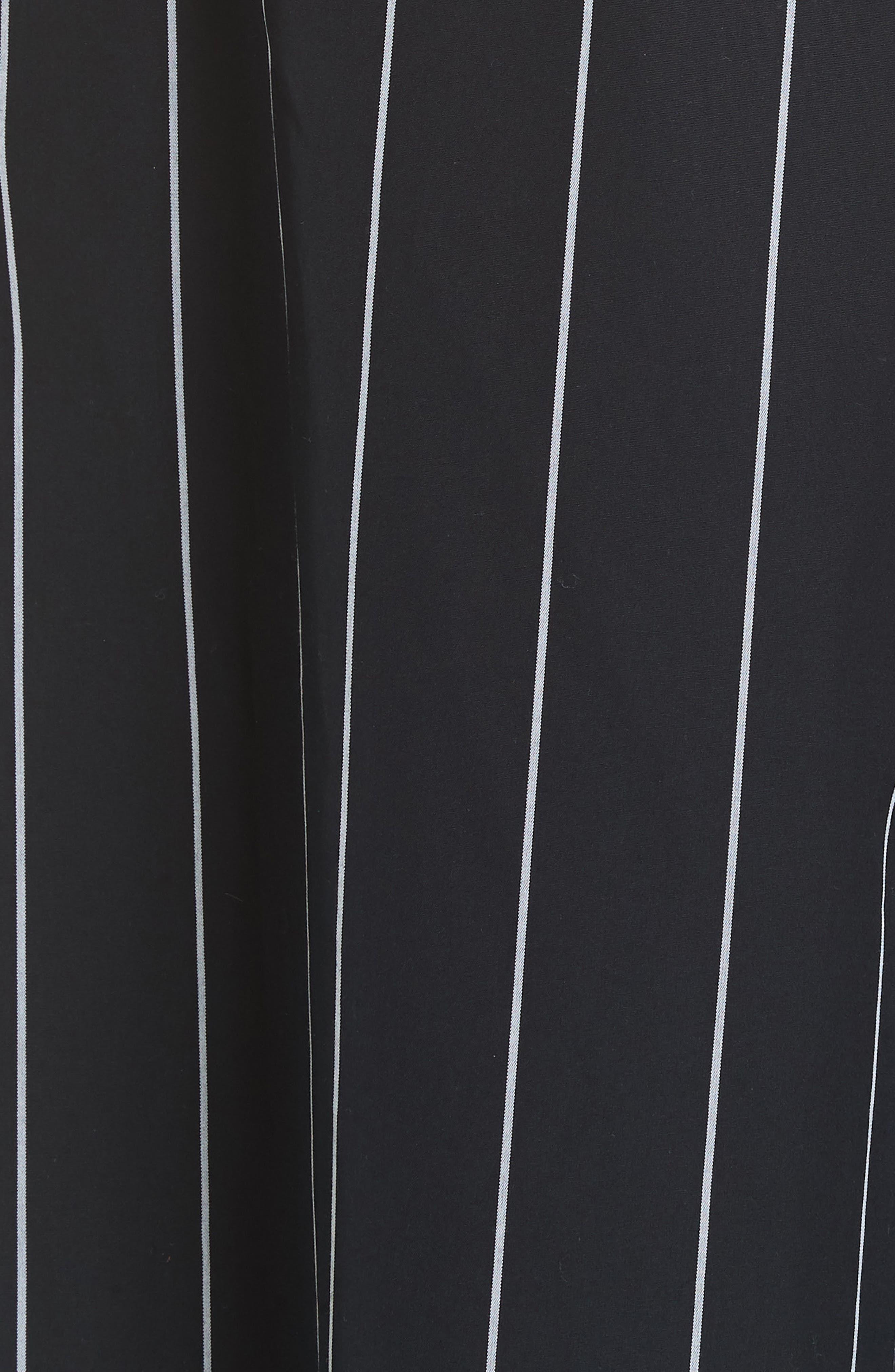 Stripe Cotton Culottes,                             Alternate thumbnail 5, color,