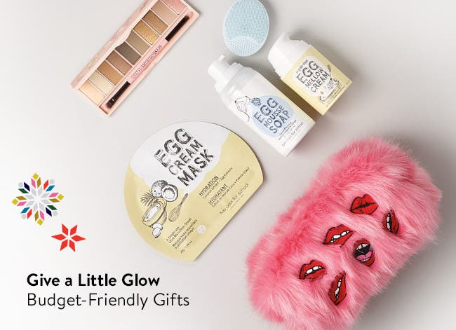 Give a little glow: budget-friendly gifts.