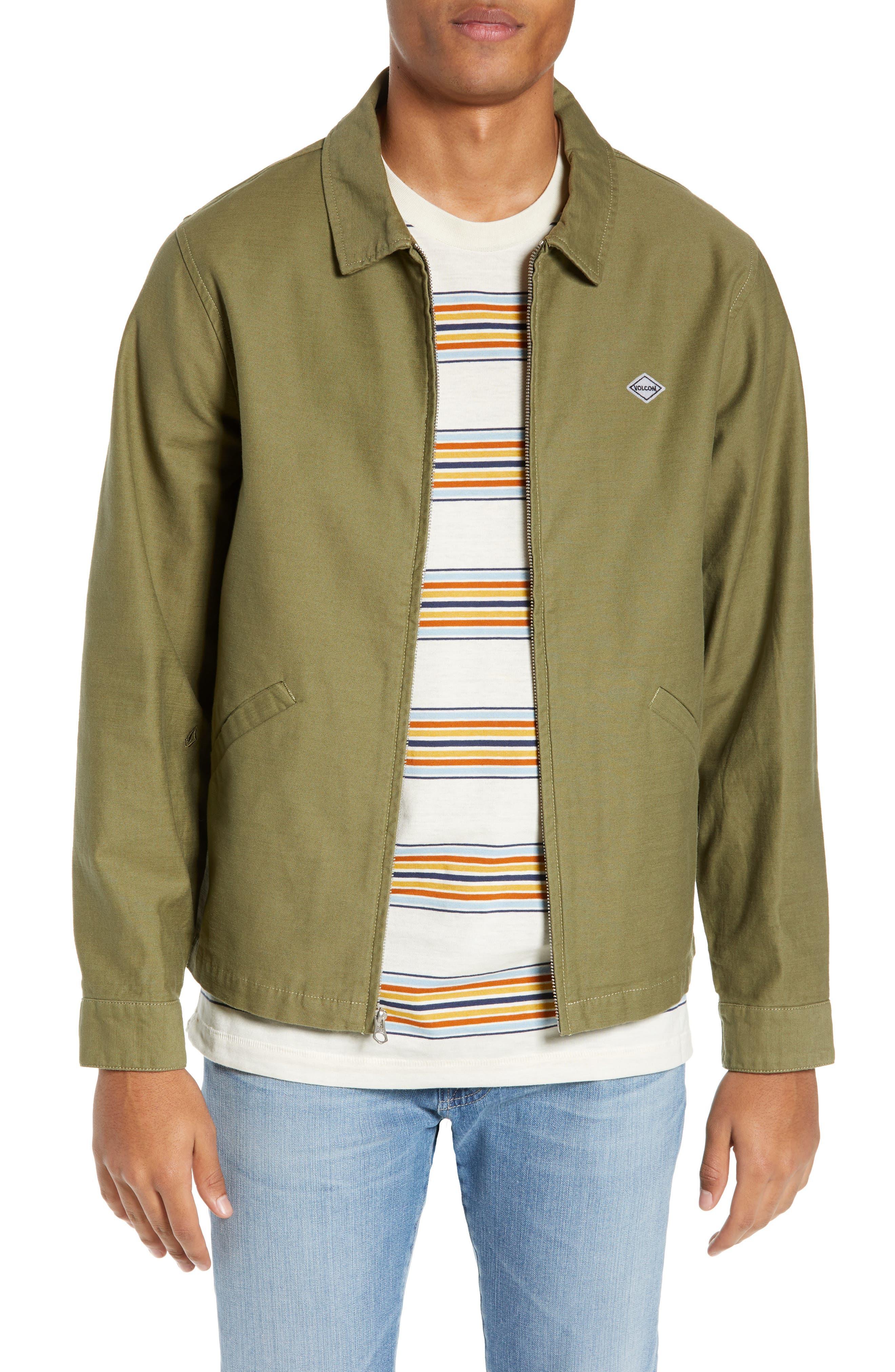 Burkey Jacket,                         Main,                         color, VINE GREEN