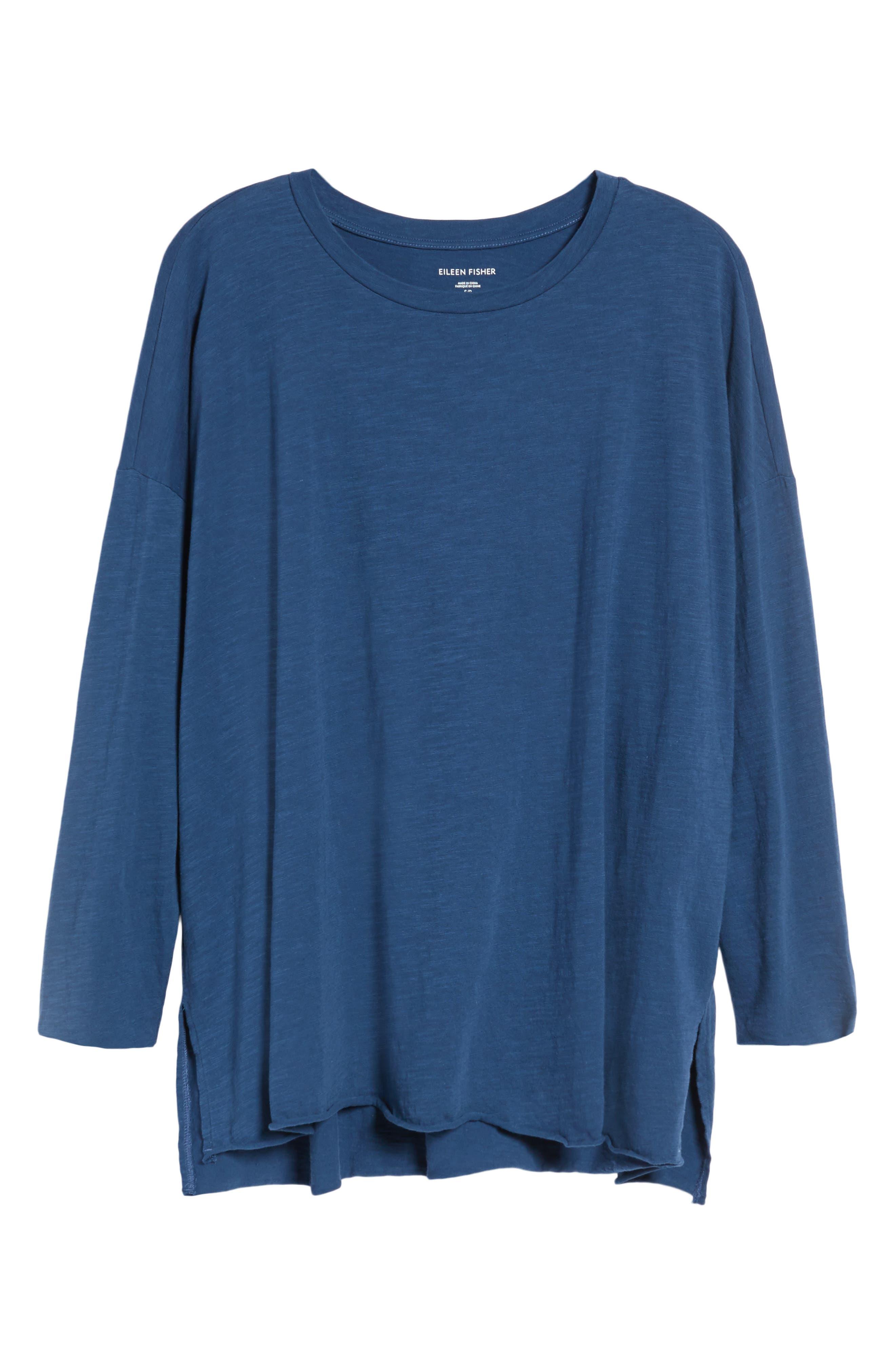 Organic Cotton Knit Top,                             Alternate thumbnail 52, color,