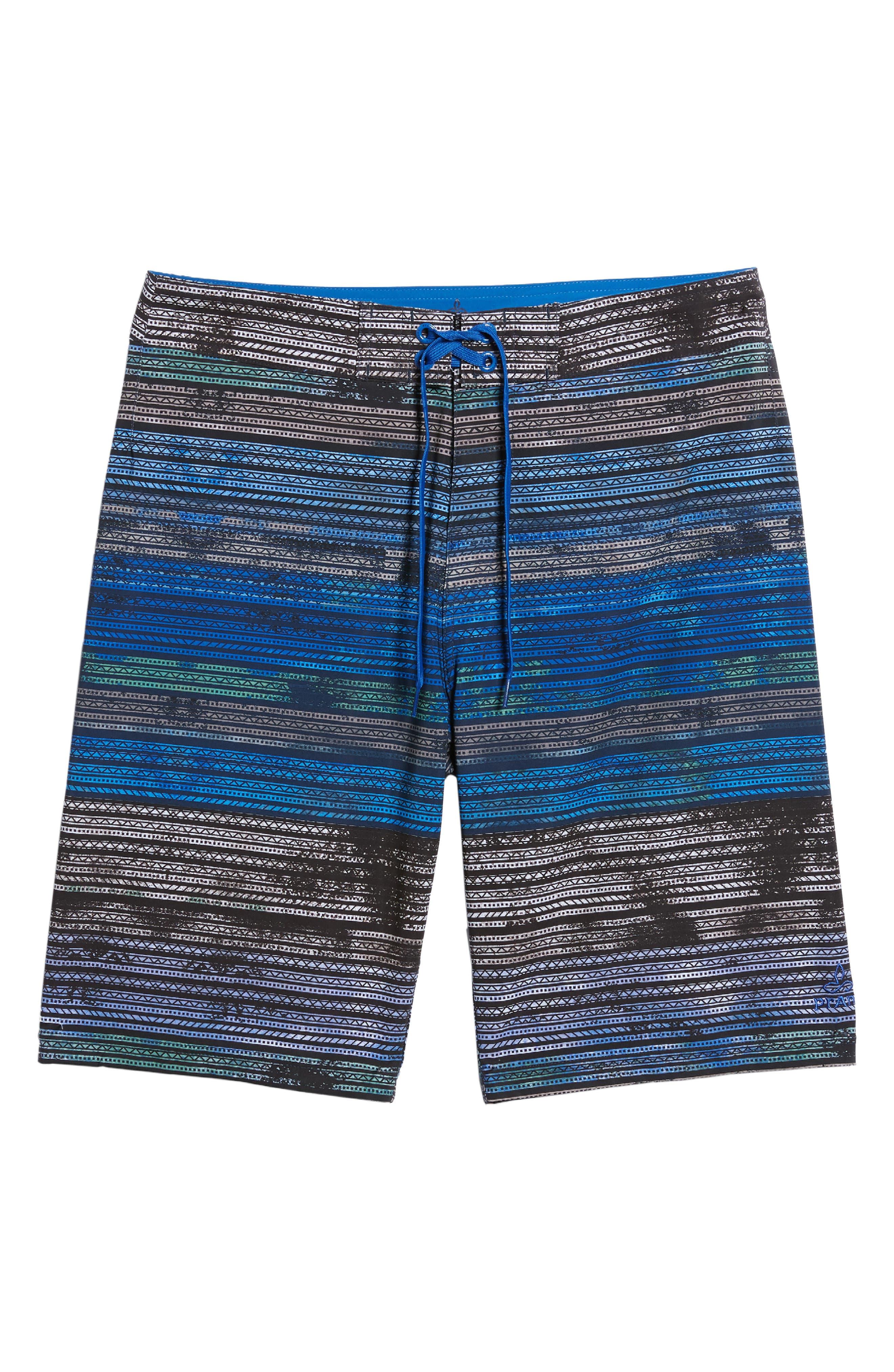 'Sediment' Stretch Board Shorts,                             Alternate thumbnail 77, color,