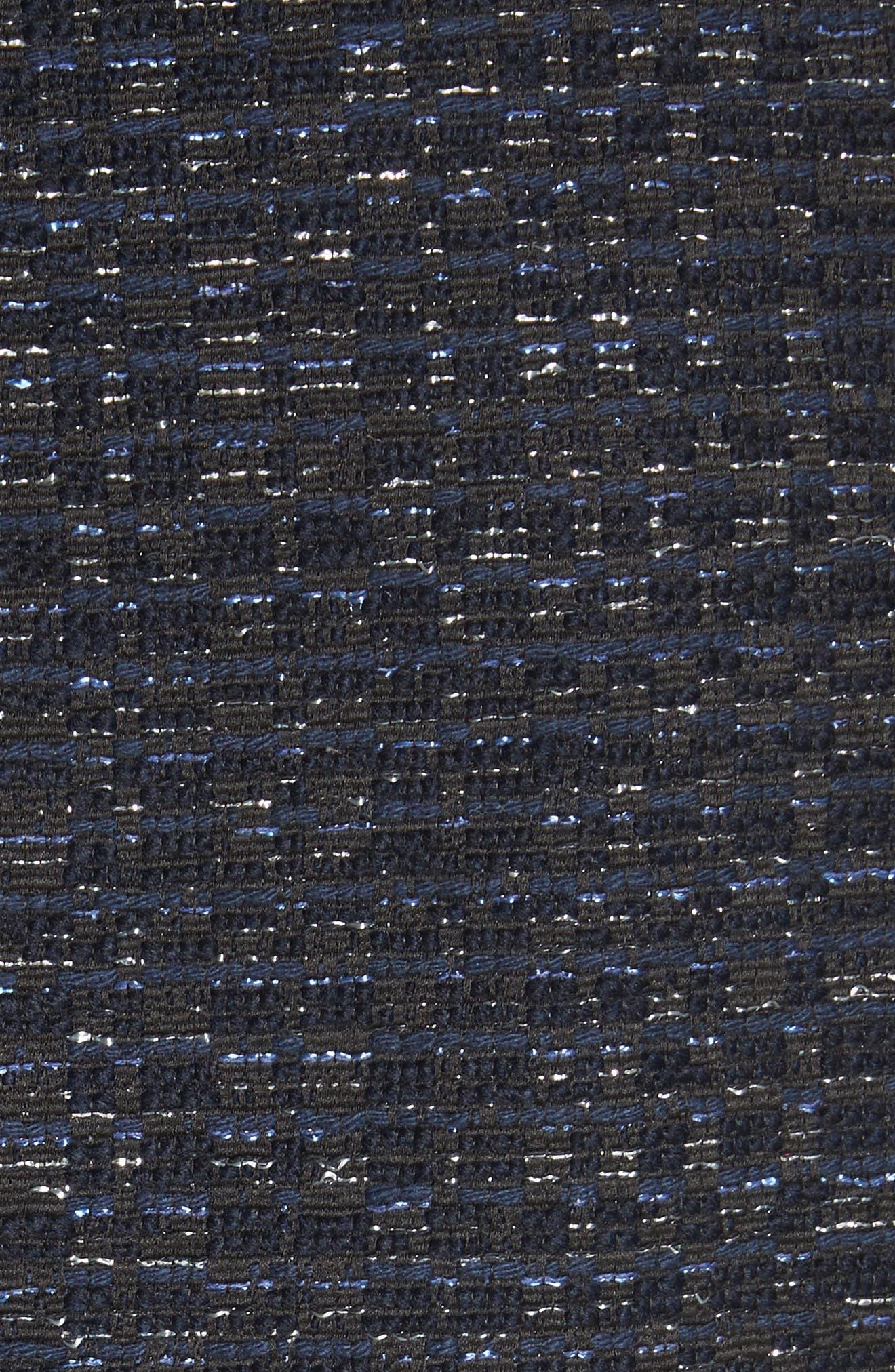 Zoe Bell Cuff Tweed Jacket,                             Alternate thumbnail 6, color,                             400
