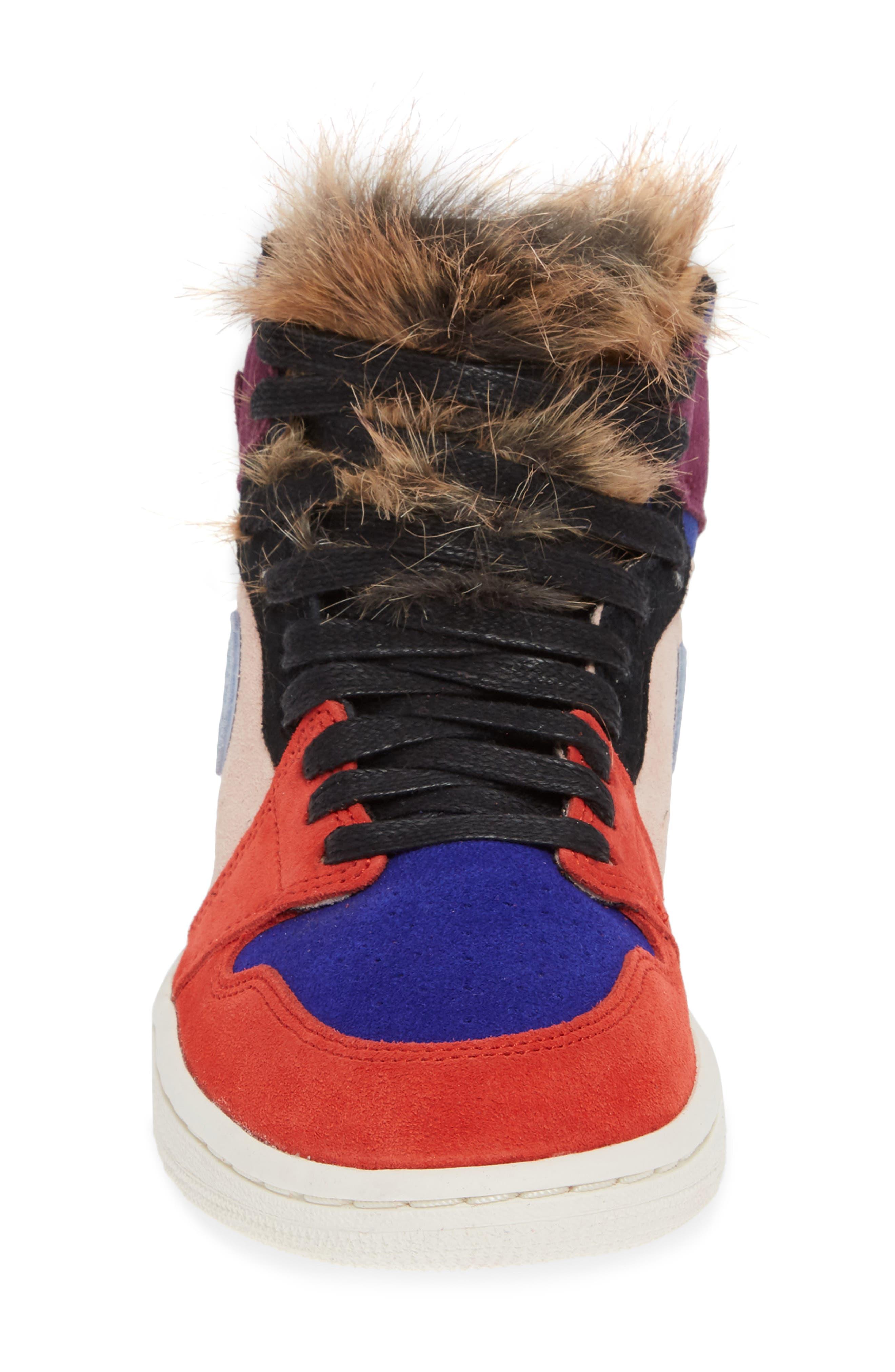 Nike Air Jordan 1 High OG Sneaker,                             Alternate thumbnail 4, color,                             600