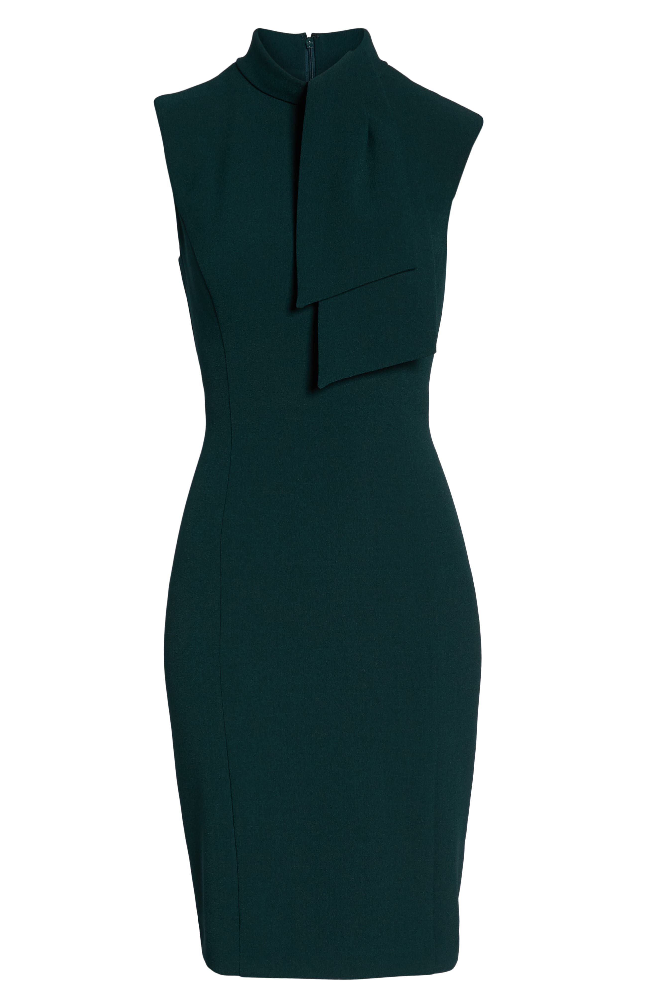 HARPER ROSE,                             Tie Neck Sheath Dress,                             Alternate thumbnail 8, color,                             302