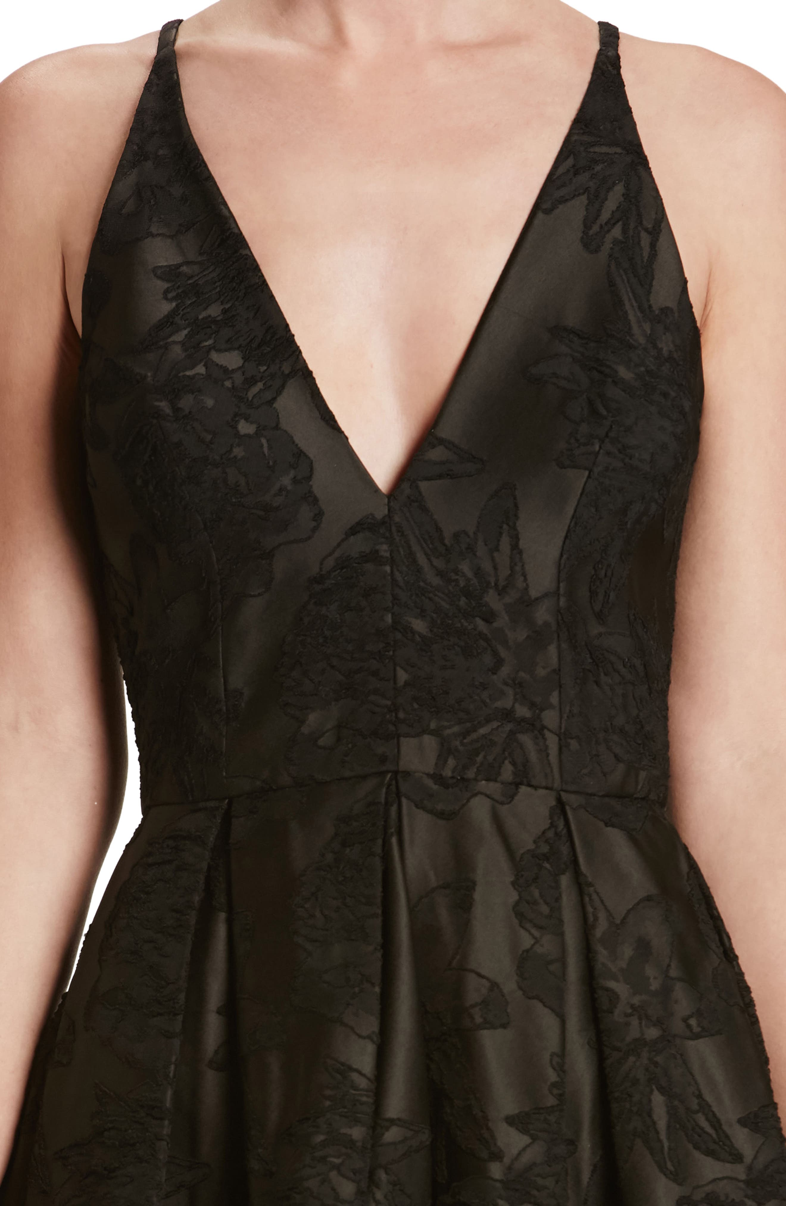 Collette Fit & Flare Dress,                             Alternate thumbnail 4, color,