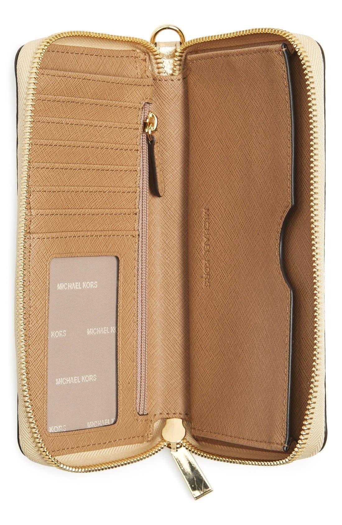 Mercer Large Leather Wristlet,                             Alternate thumbnail 30, color,