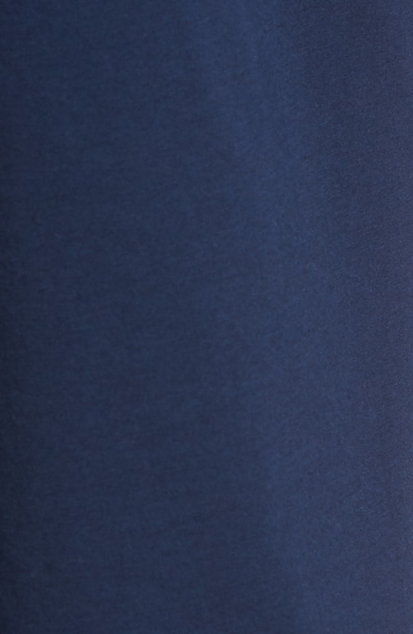 Stretch Cotton & Modal Blend Lounge Pants,                             Alternate thumbnail 5, color,                             NAVY