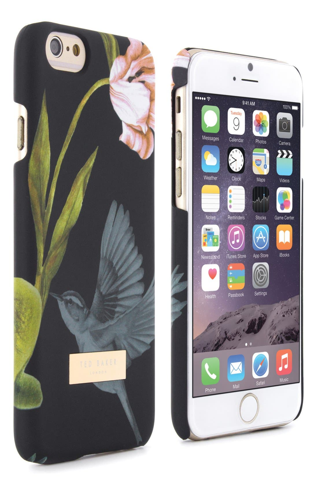 TED BAKER LONDON,                             Dobos iPhone 6/6s Case,                             Alternate thumbnail 5, color,                             001