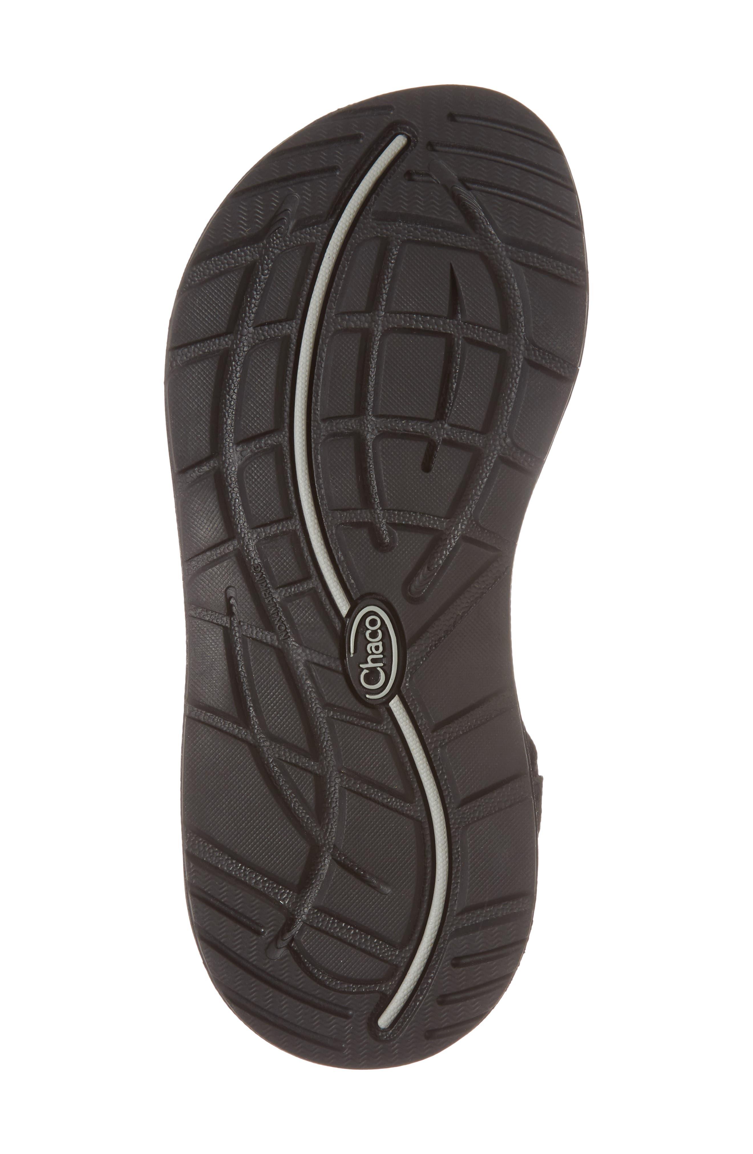 ZX1 Classic Sport Sandal,                             Alternate thumbnail 6, color,                             BLACK
