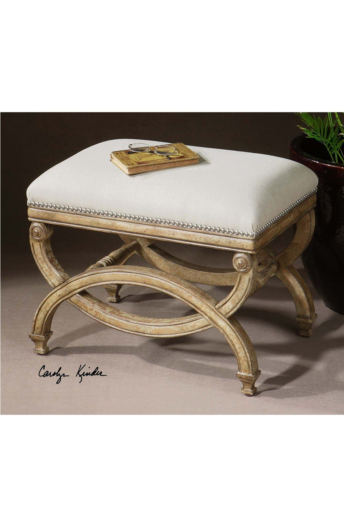 'Karline' Small Bench,                             Alternate thumbnail 2, color,                             100
