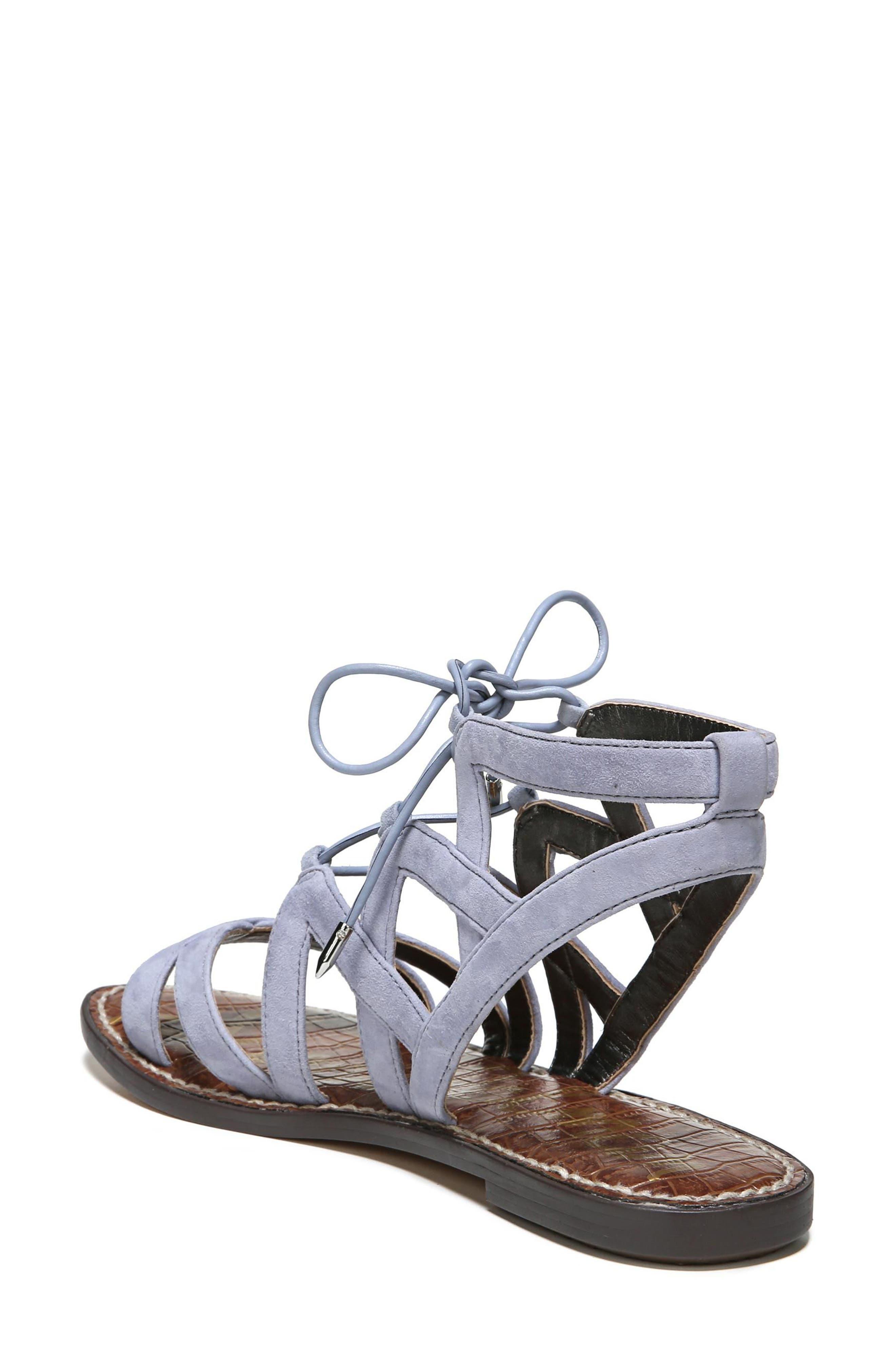Gemma Lace-Up Sandal,                             Alternate thumbnail 2, color,                             401