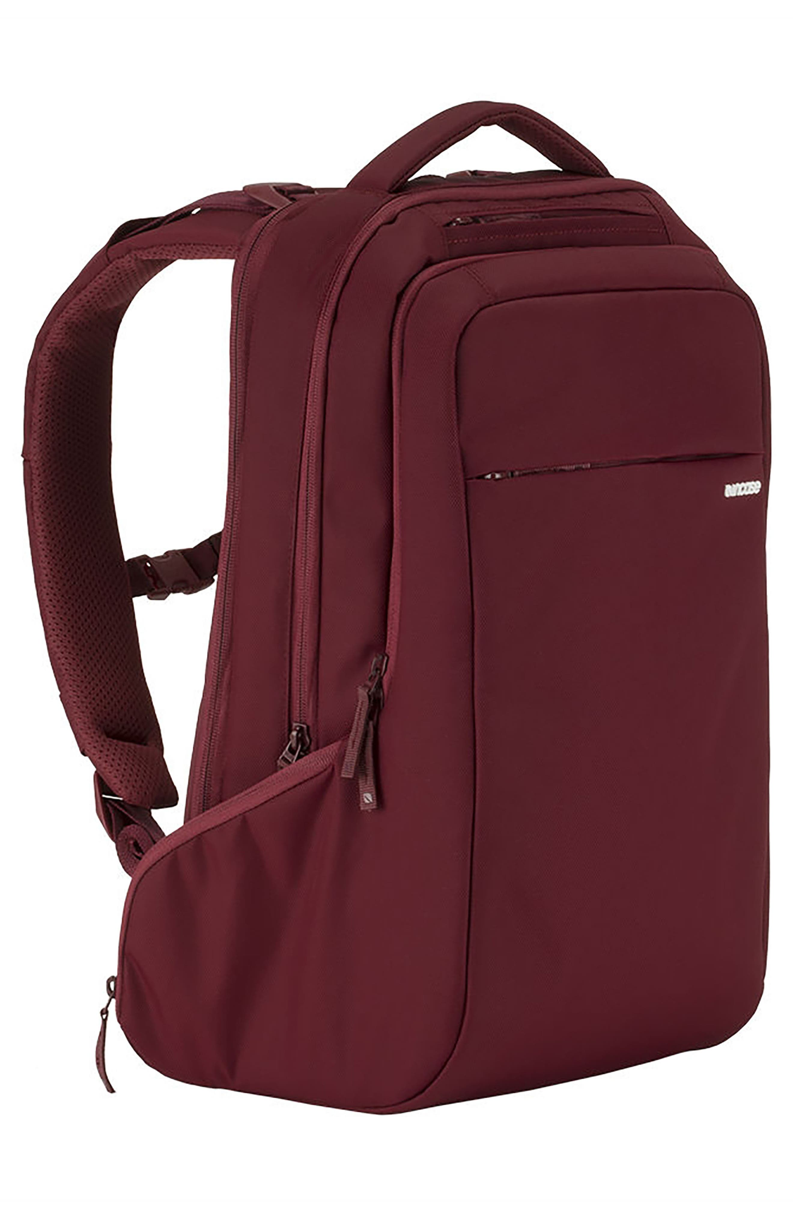 Icon Backpack,                             Alternate thumbnail 4, color,                             DEEP RED