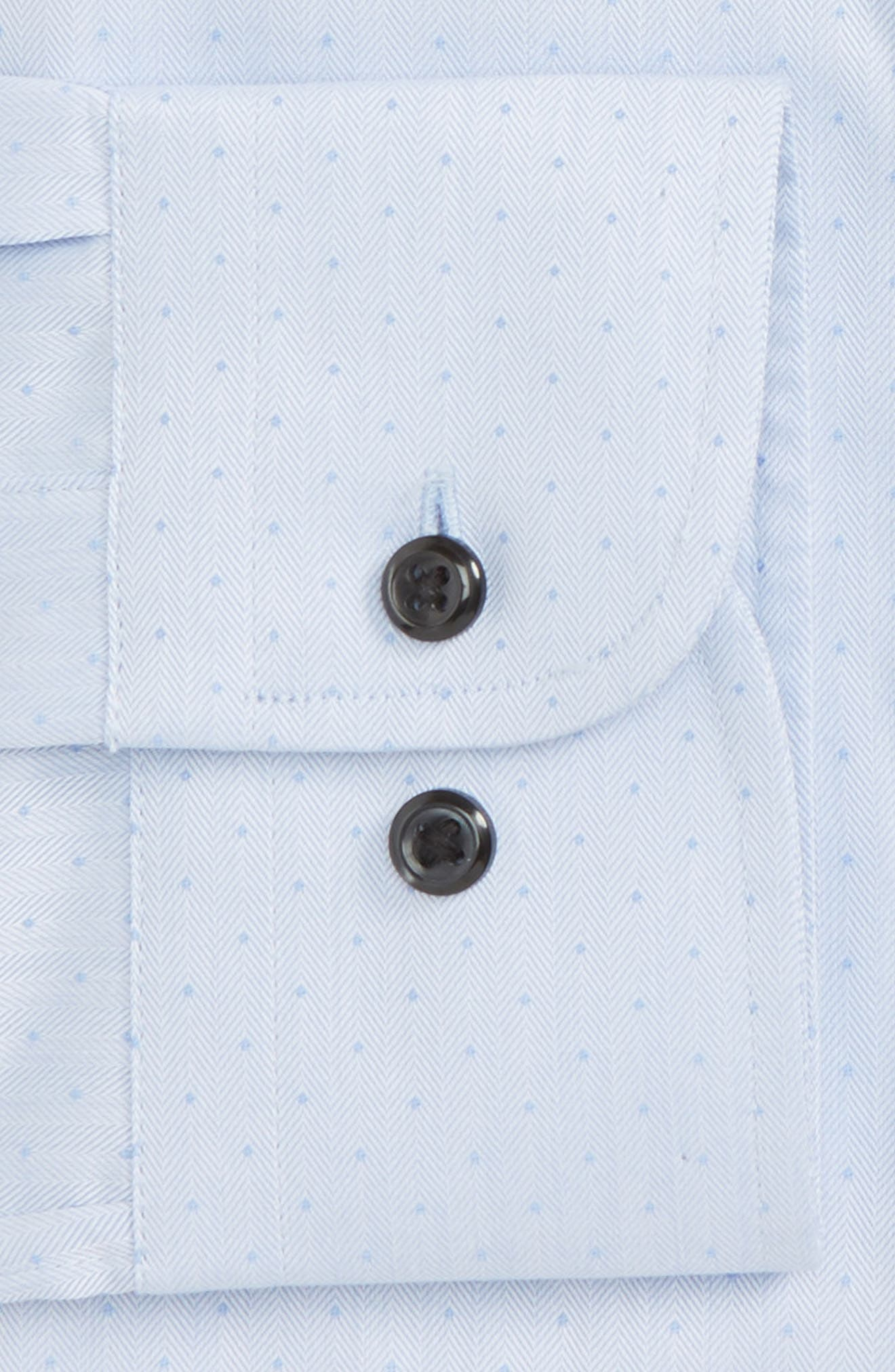 Traditional Fit Non-Iron Dress Shirt,                             Alternate thumbnail 12, color,