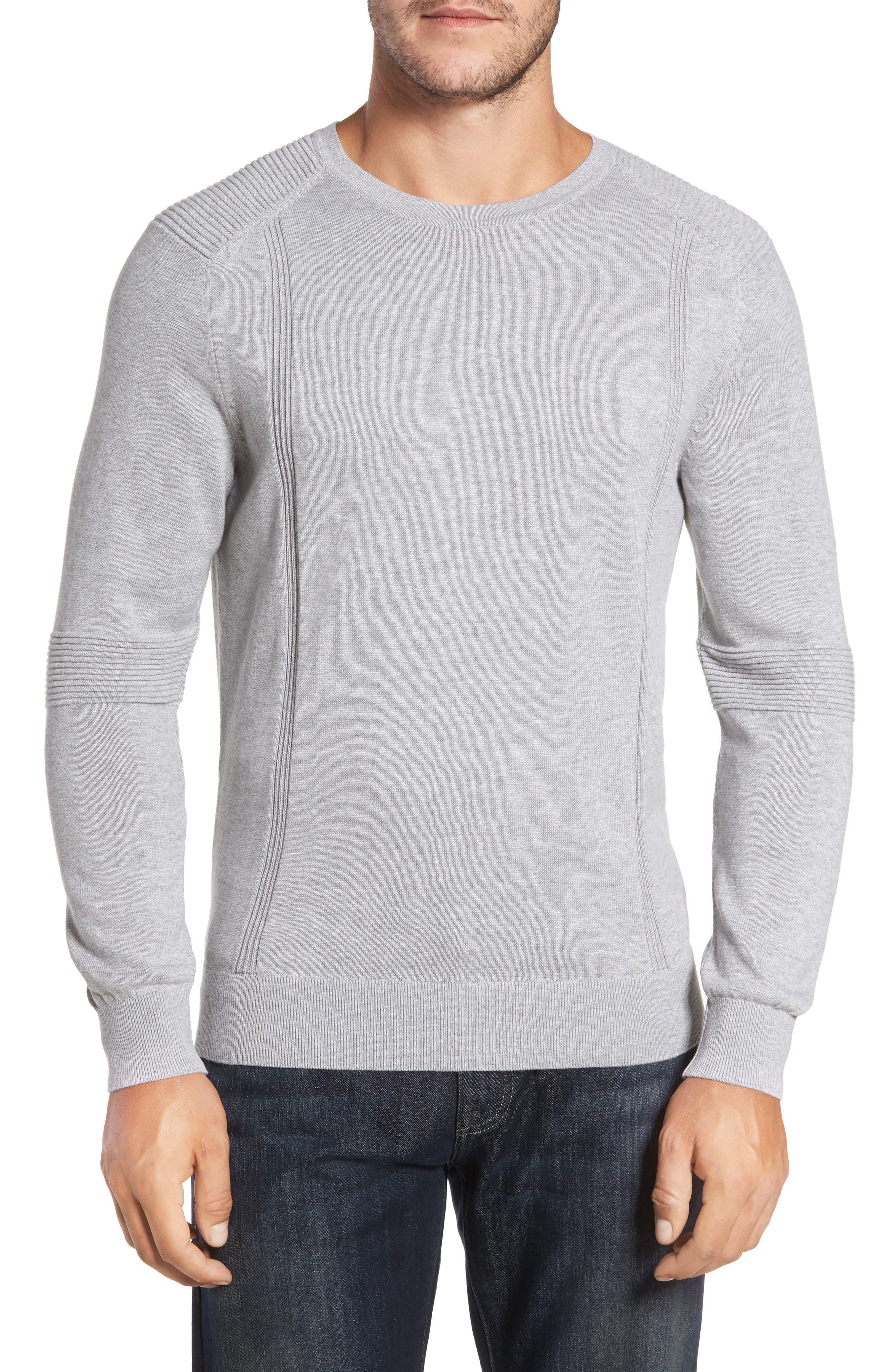 R18 Chopper Rib Detail Sweater,                         Main,                         color, 078