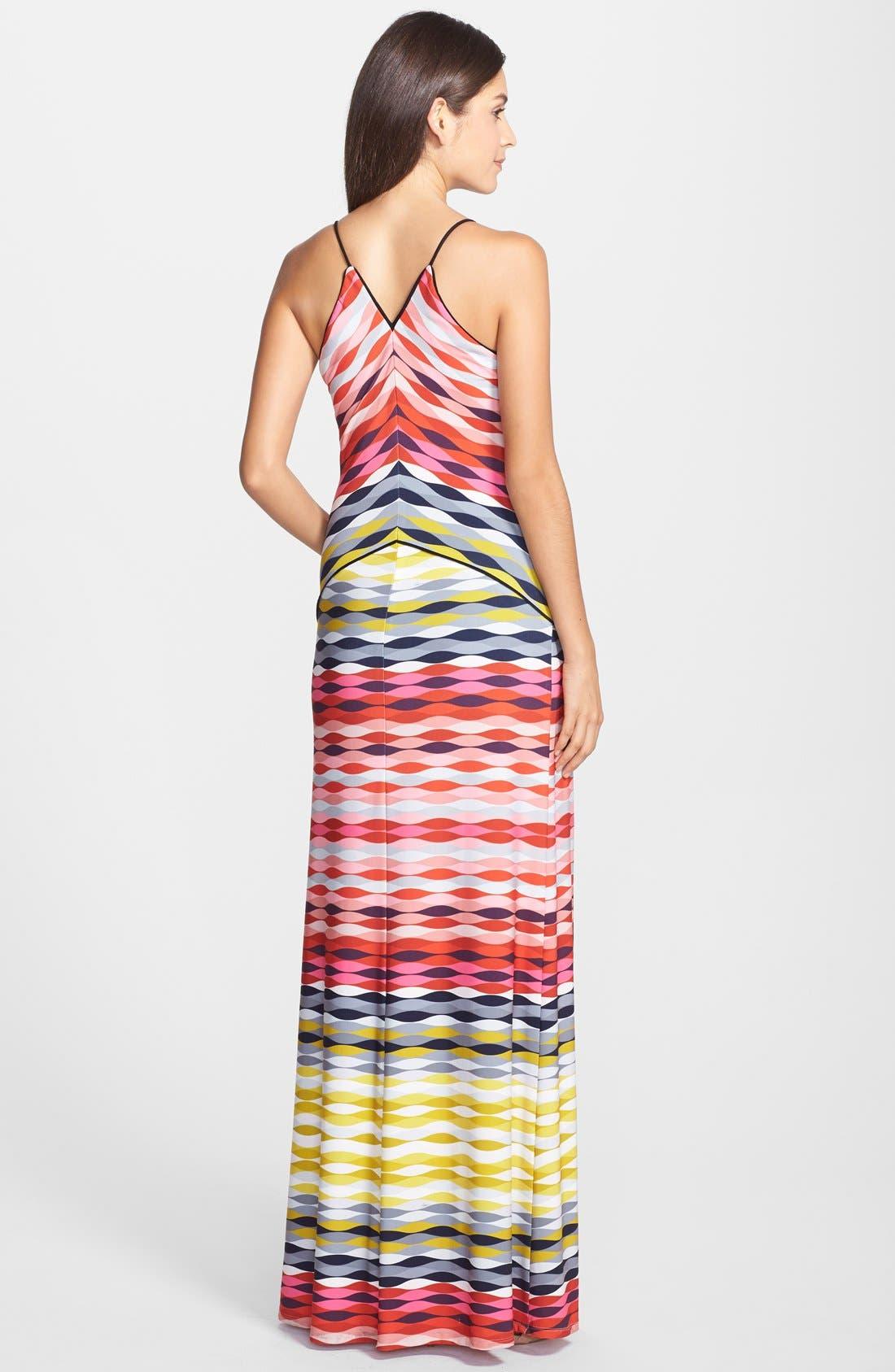 'Maiz' Print Jersey Maxi Dress,                             Alternate thumbnail 2, color,                             600