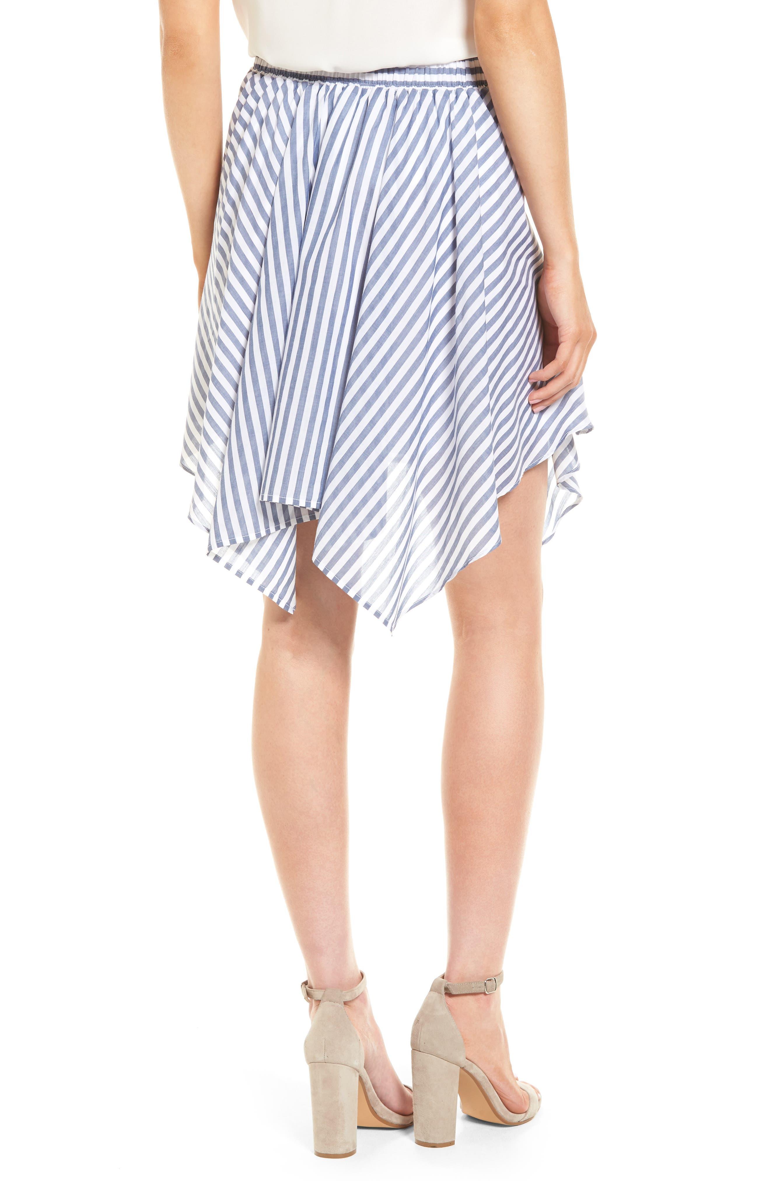 BP.,                             Tie Waist Handkerchief Hem Skirt,                             Alternate thumbnail 2, color,                             410