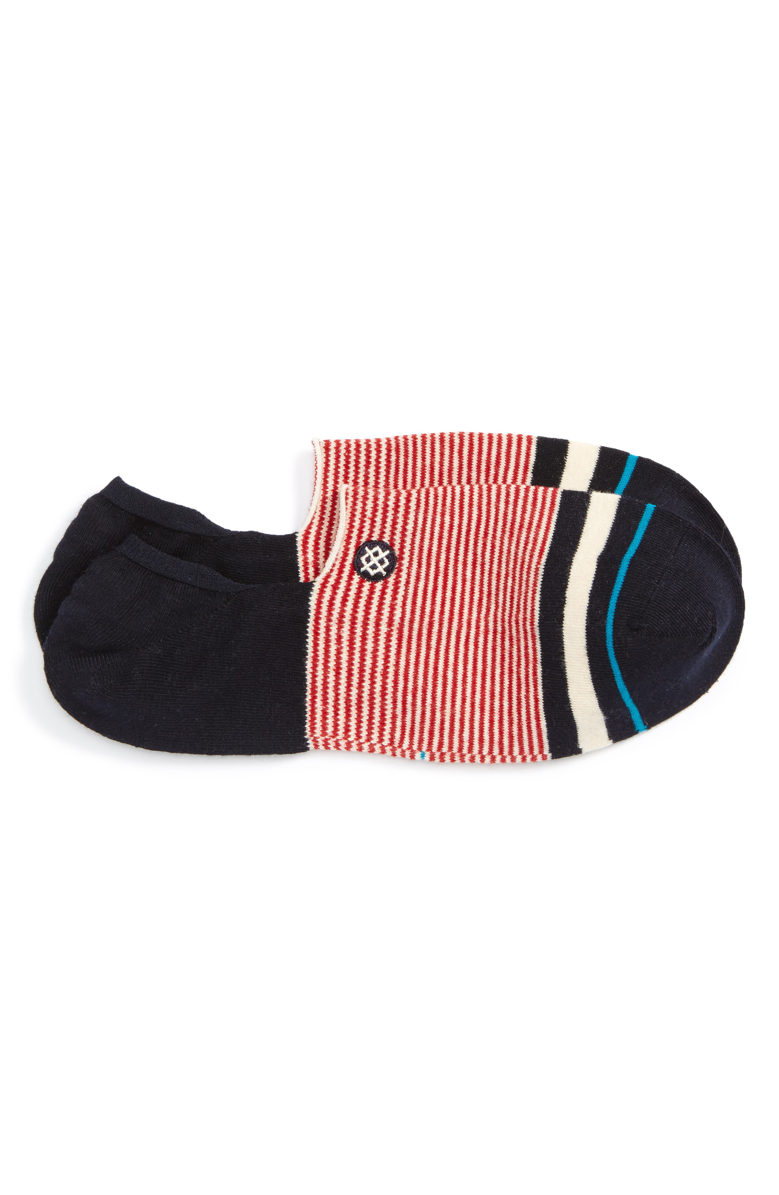 Americana No-Show Socks,                             Main thumbnail 1, color,                             600