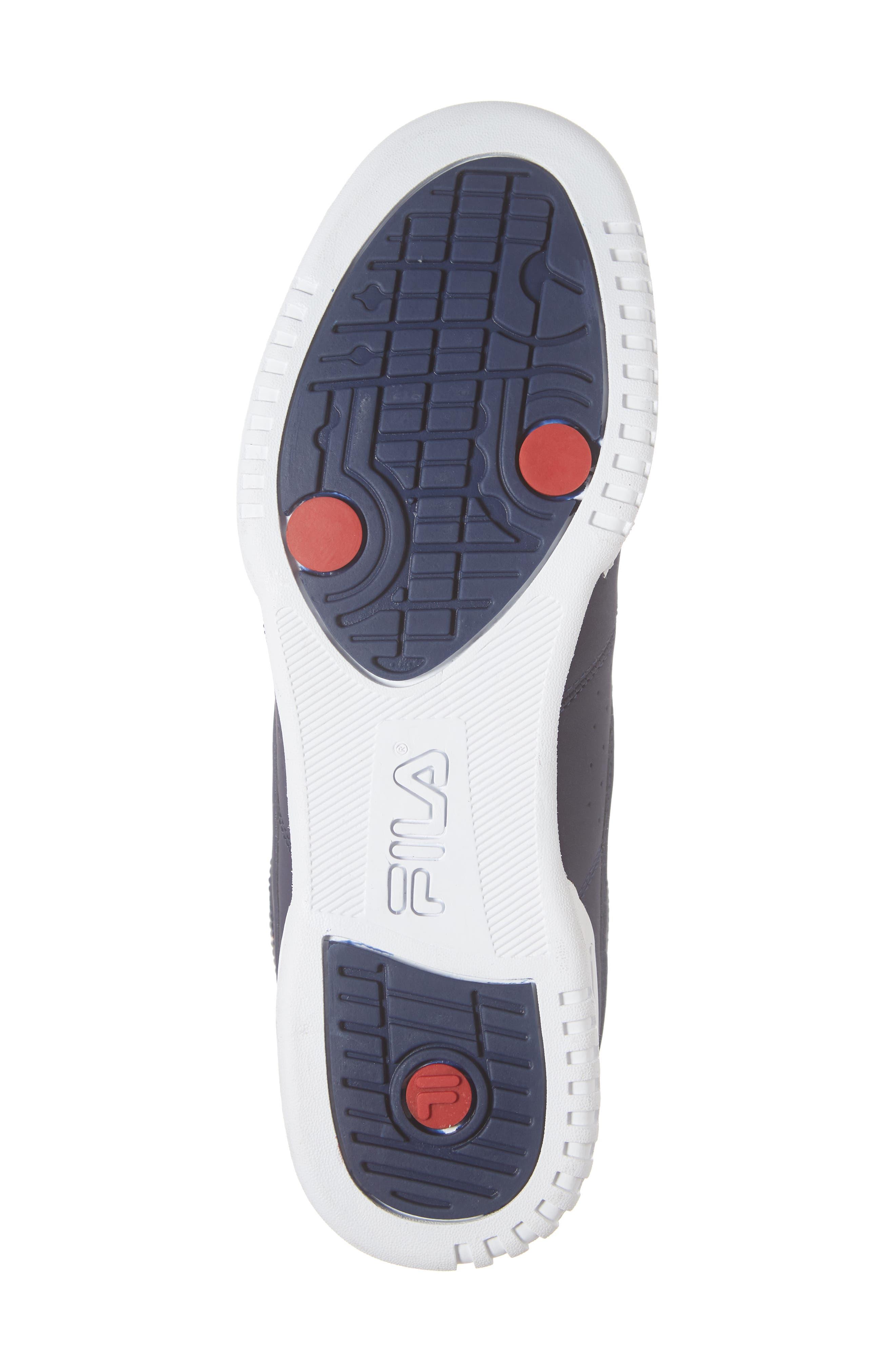 F-13 F-Box Sneaker,                             Alternate thumbnail 6, color,                             NAVY/ WHITE/ RED