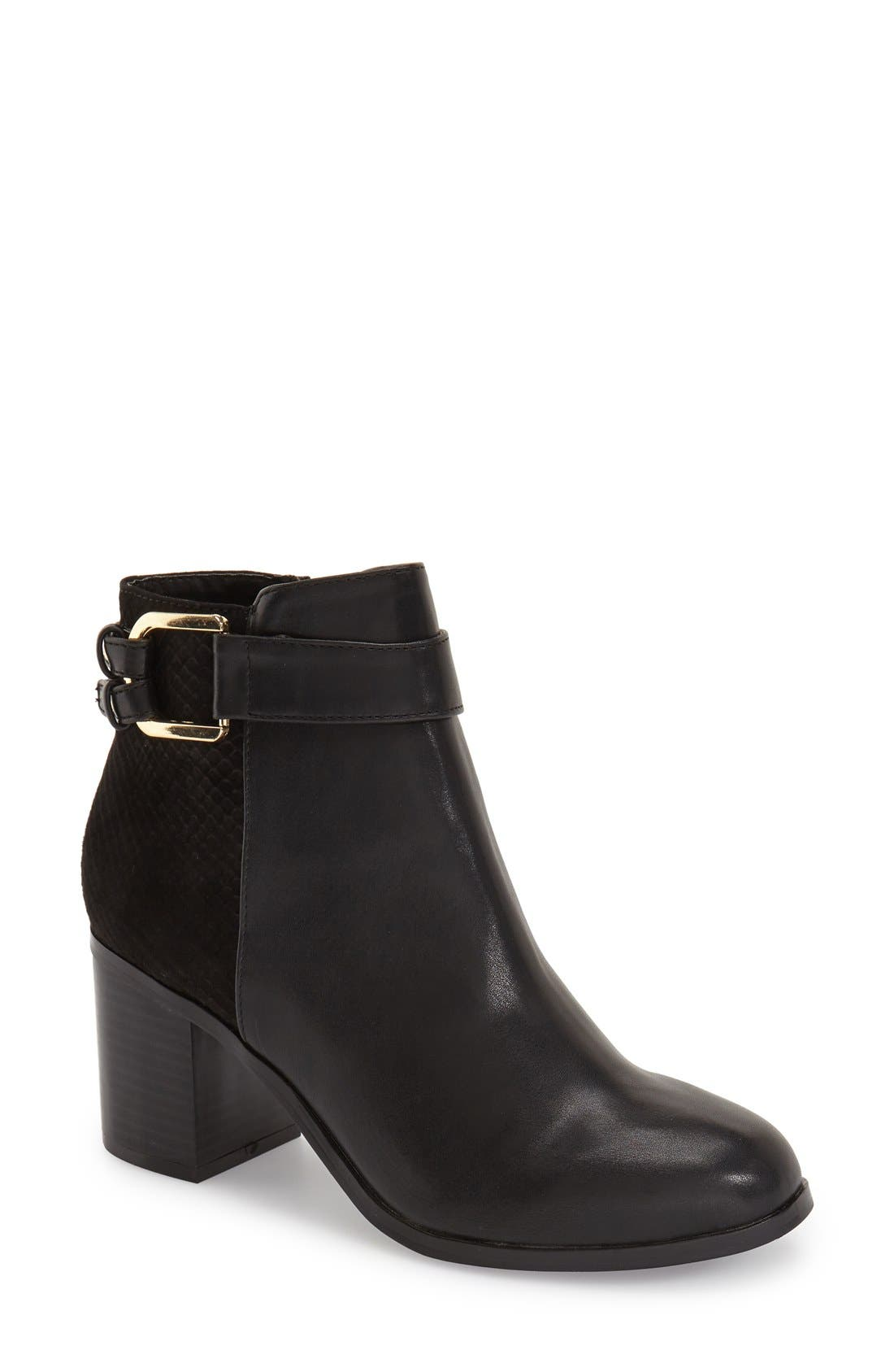 TOPSHOP 'Beam' Boot, Main, color, 001