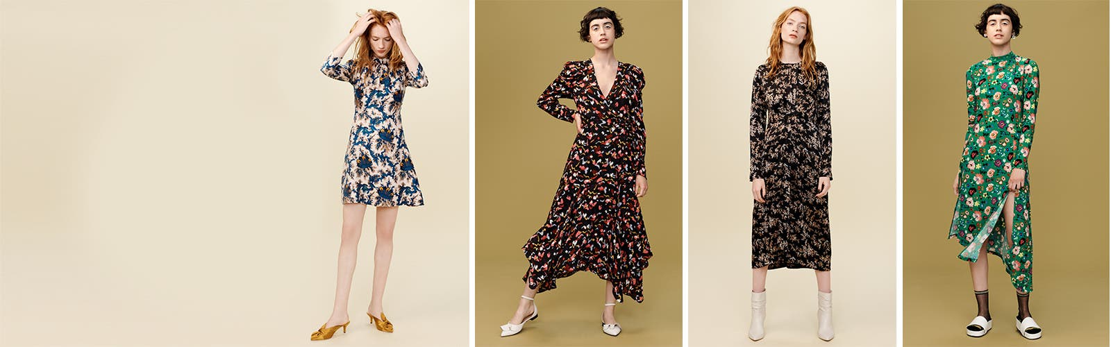 Now Blooming: Fall Dresses