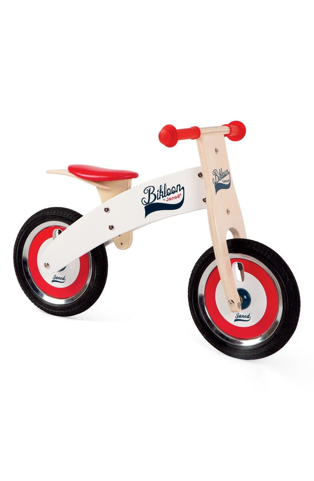 'Bikloon' Balance Bike,                             Alternate thumbnail 3, color,                             RED