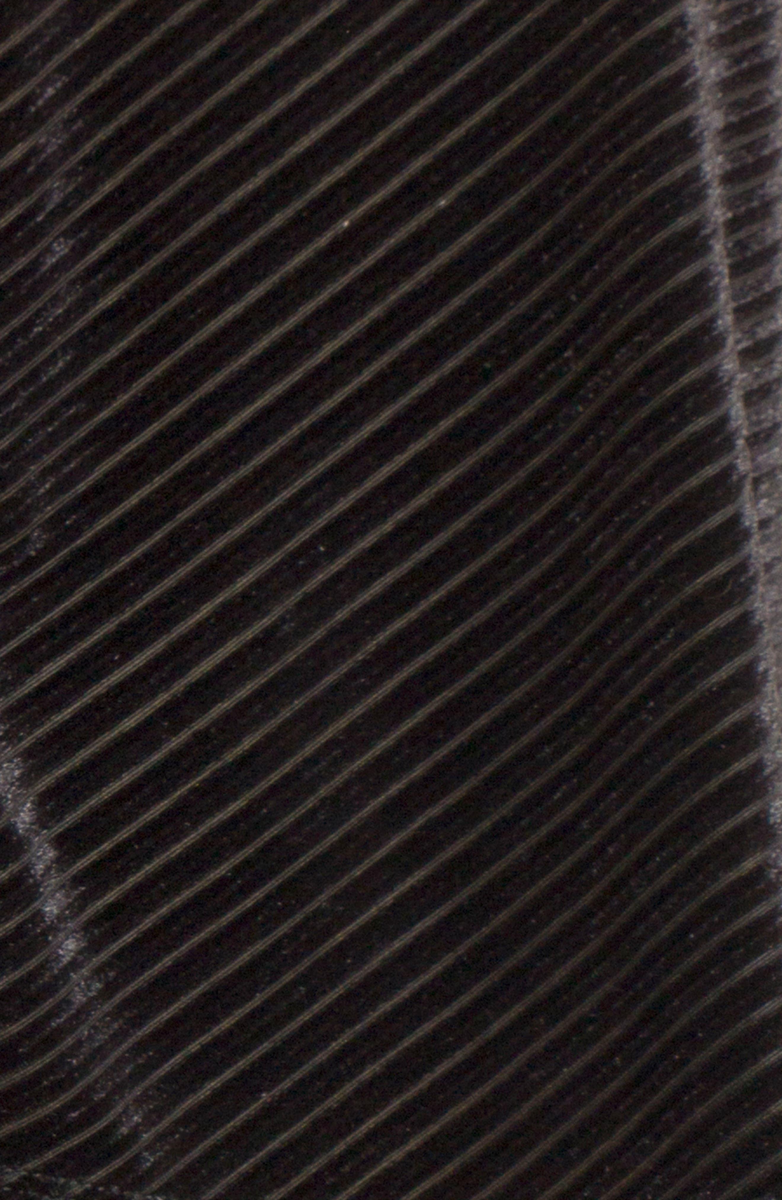 Crop Velvet Camisole,                             Alternate thumbnail 5, color,                             001